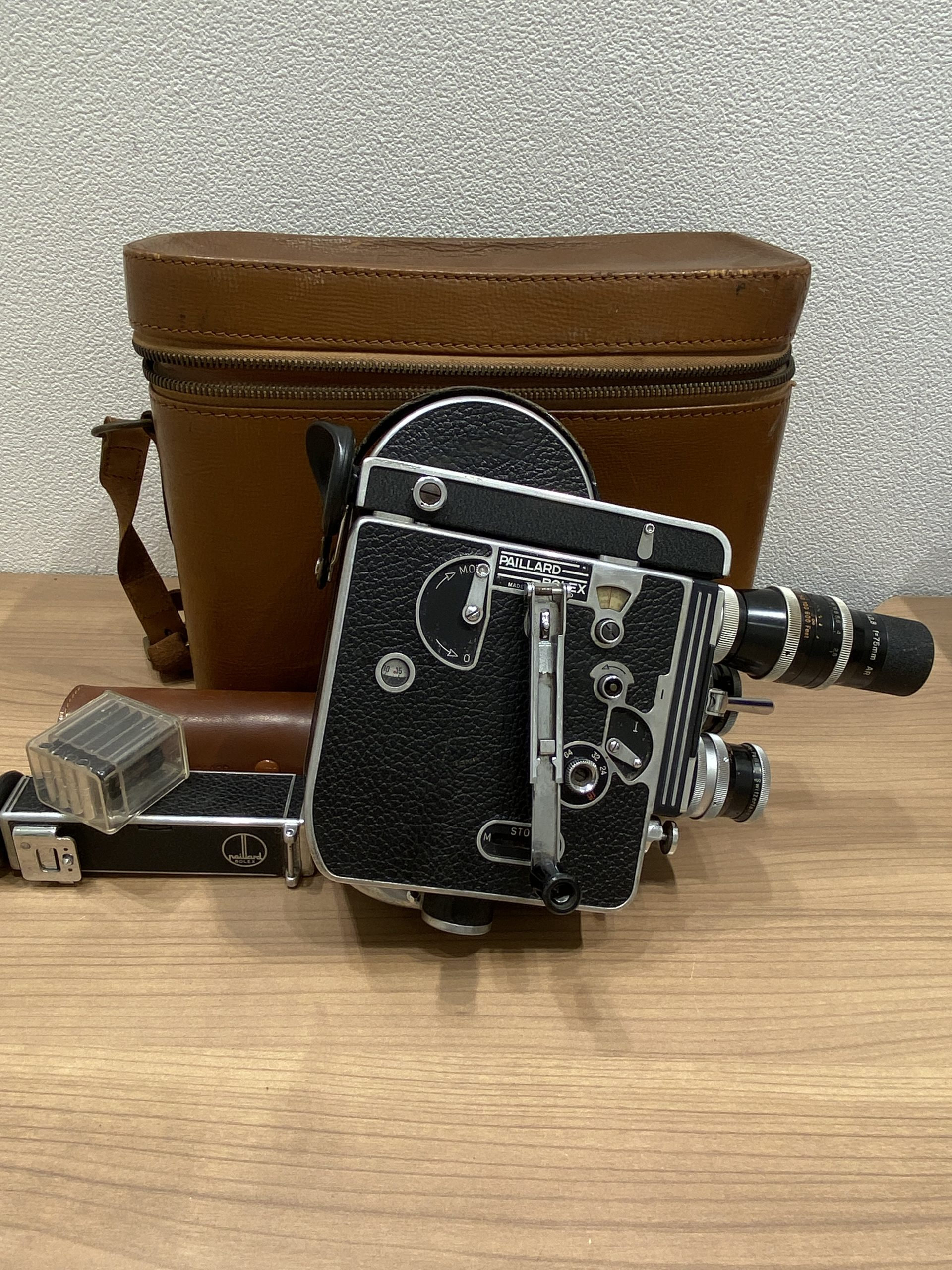【BOLEX PAILLARD/ボレックスパイヤール】H16 REFLEX/16mm フィルムカメラ アンティーク