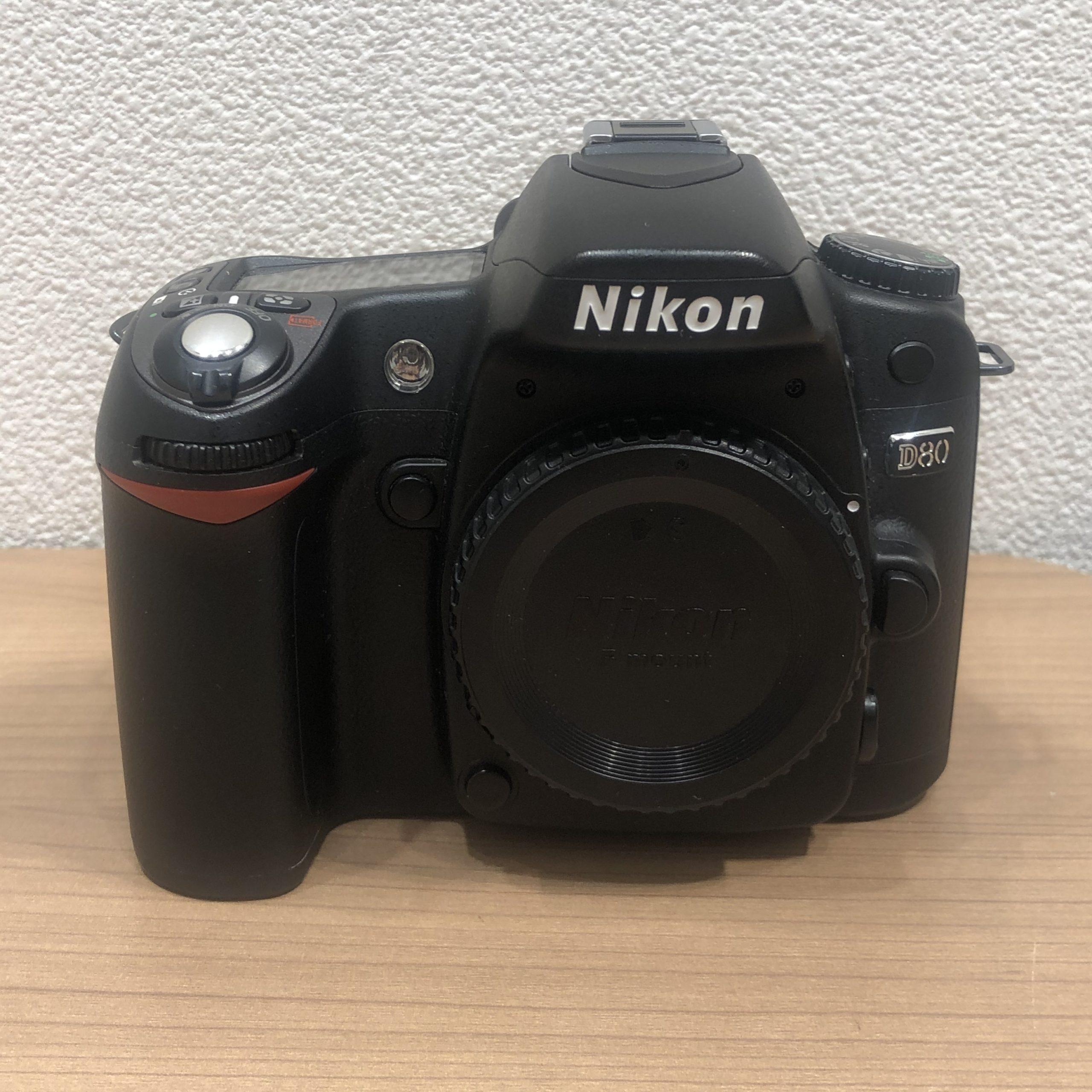 【Nikon/ニコン】D80 カメラ ボディ