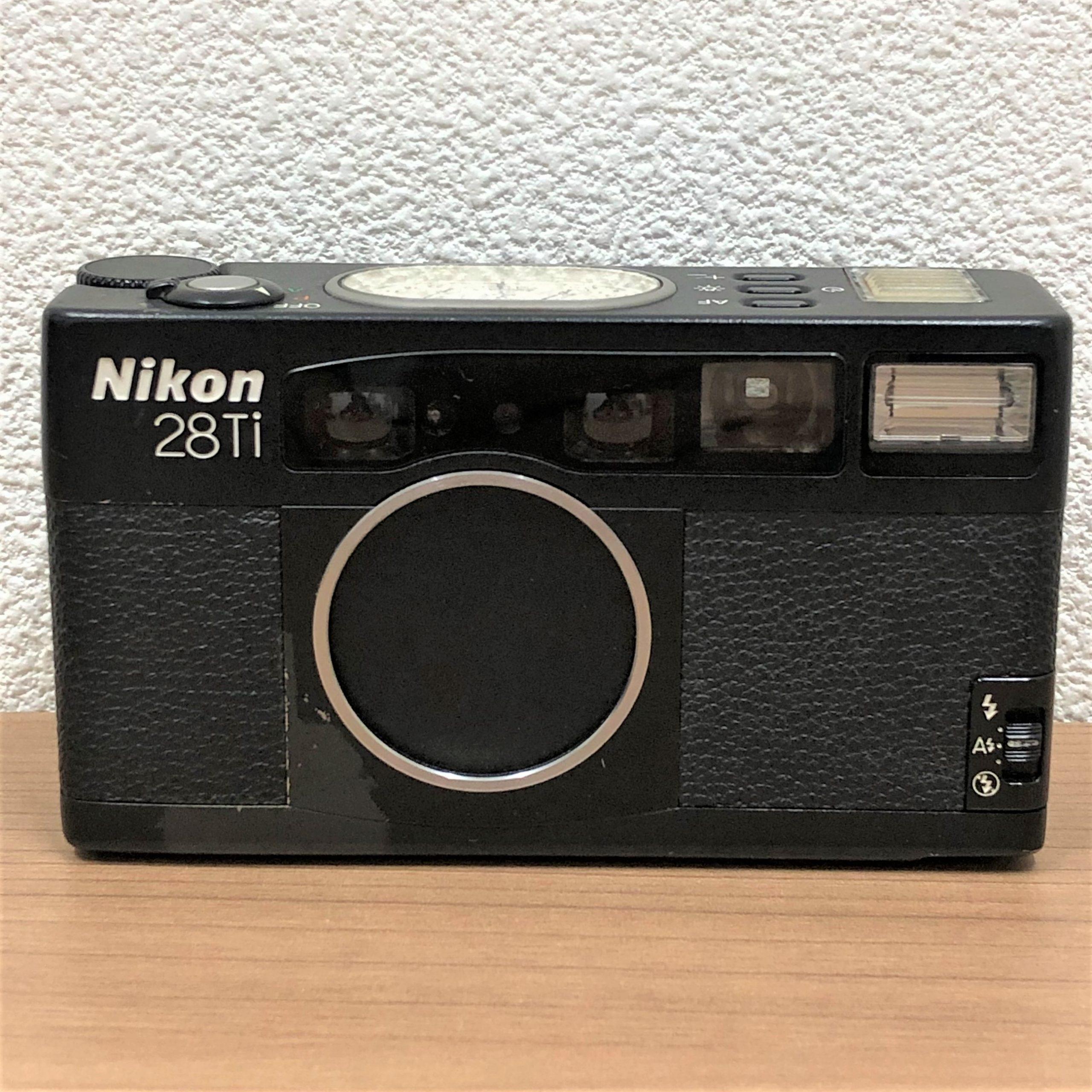 【Nikon/ニコン】28Ti 28mm 12.8 コンパクトフィルムカメラ