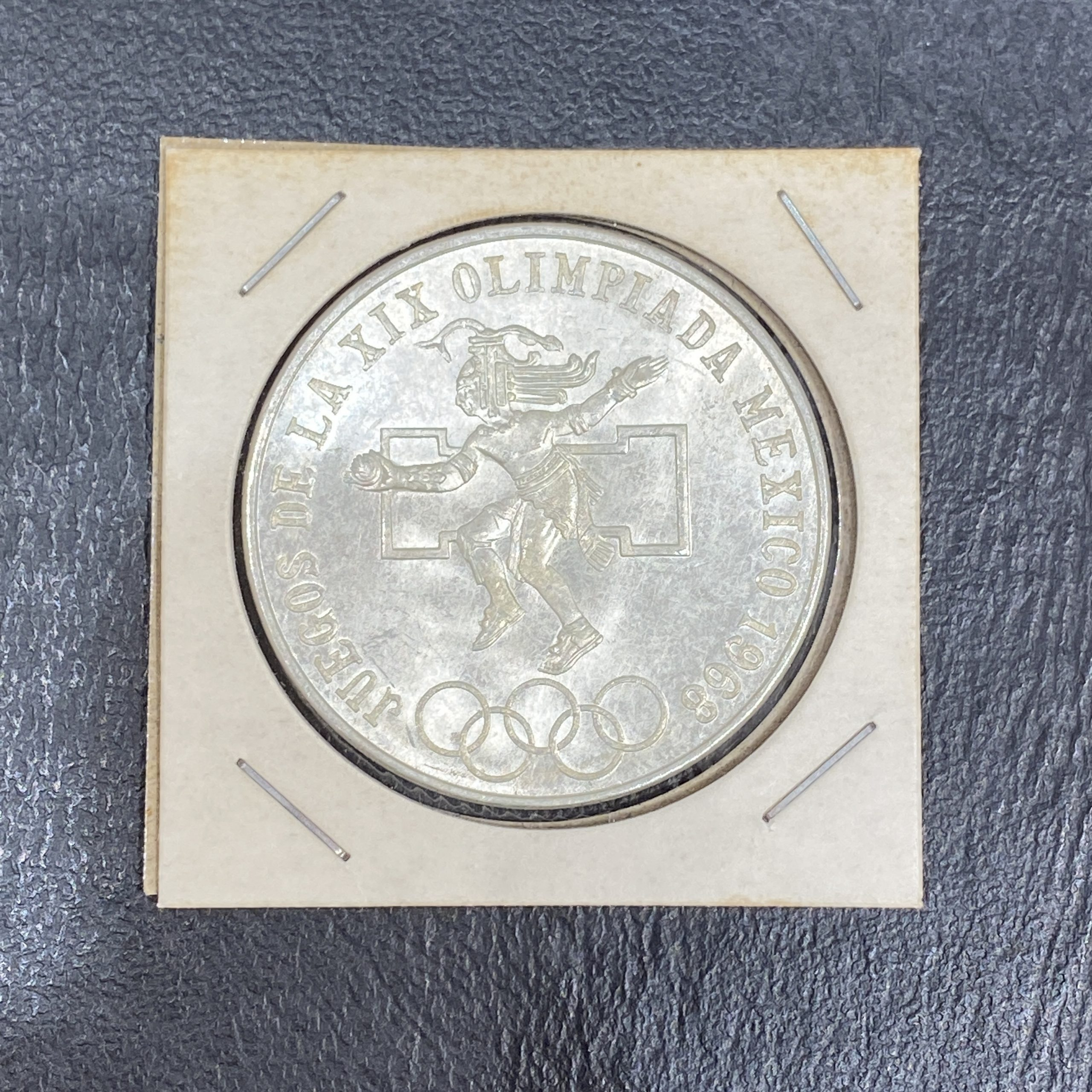 【外国古銭】メキシコ銀貨 オリンピック 1968年 25ペソ