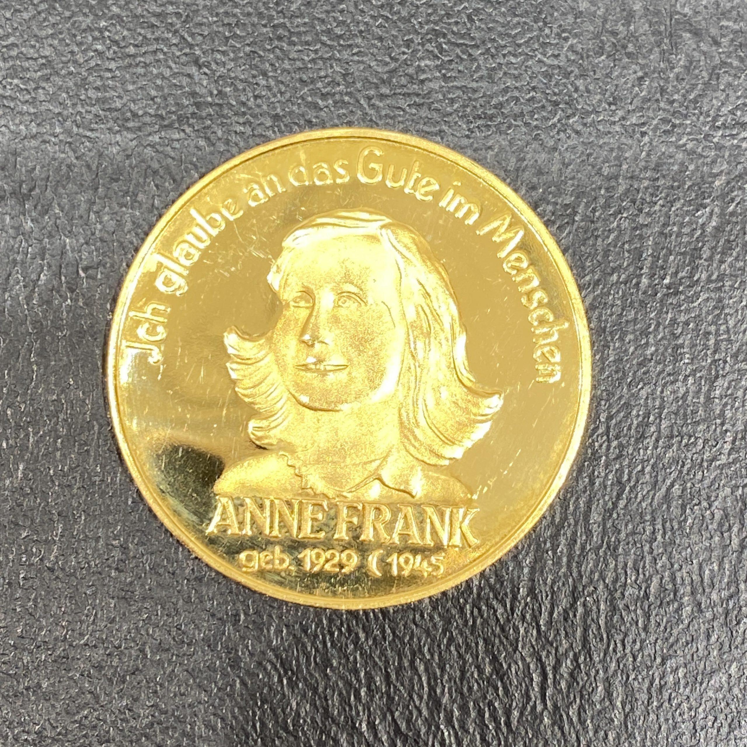 K21.6 アンネフランク 金貨