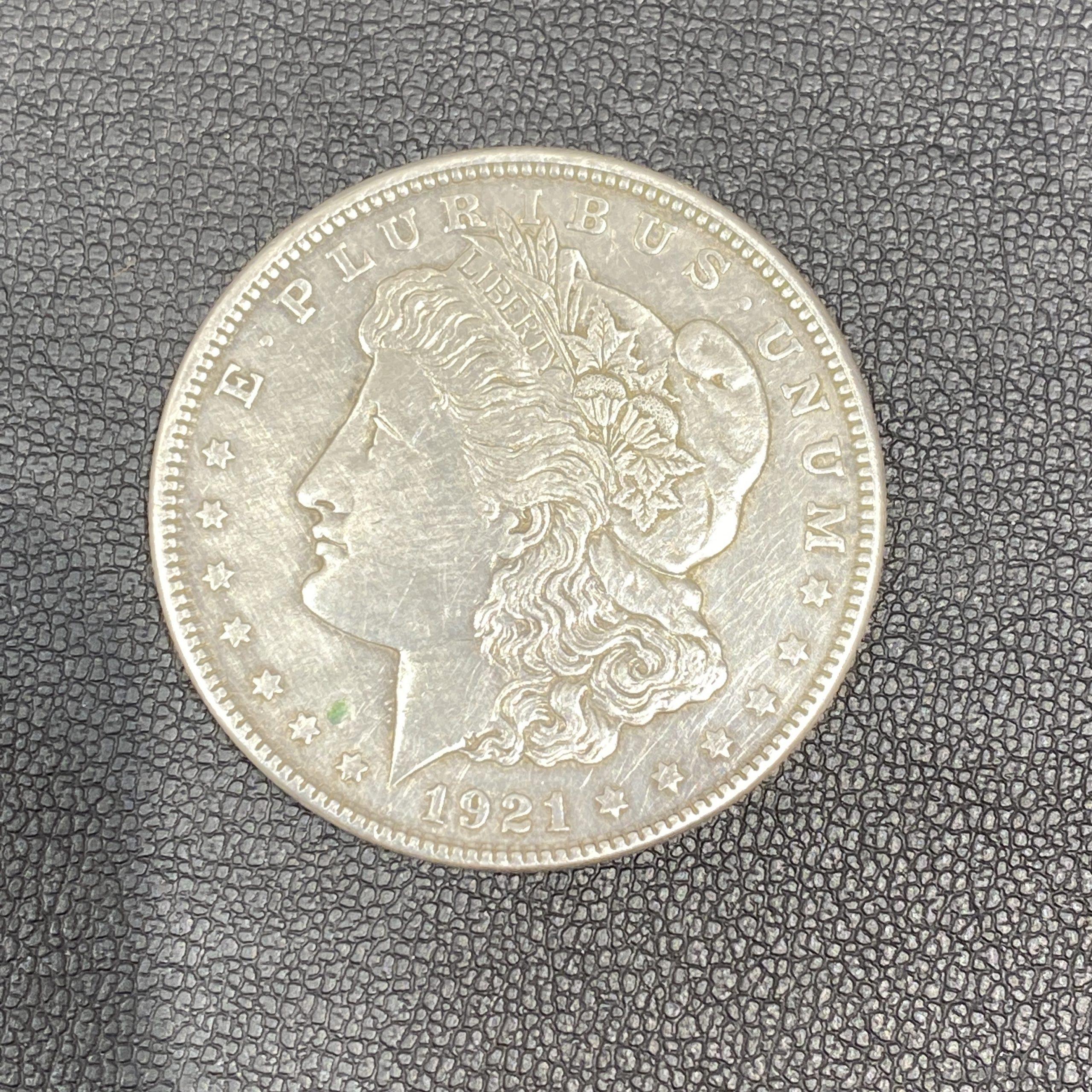 アメリカ 1ドル銀貨 モルガンダラー 1921