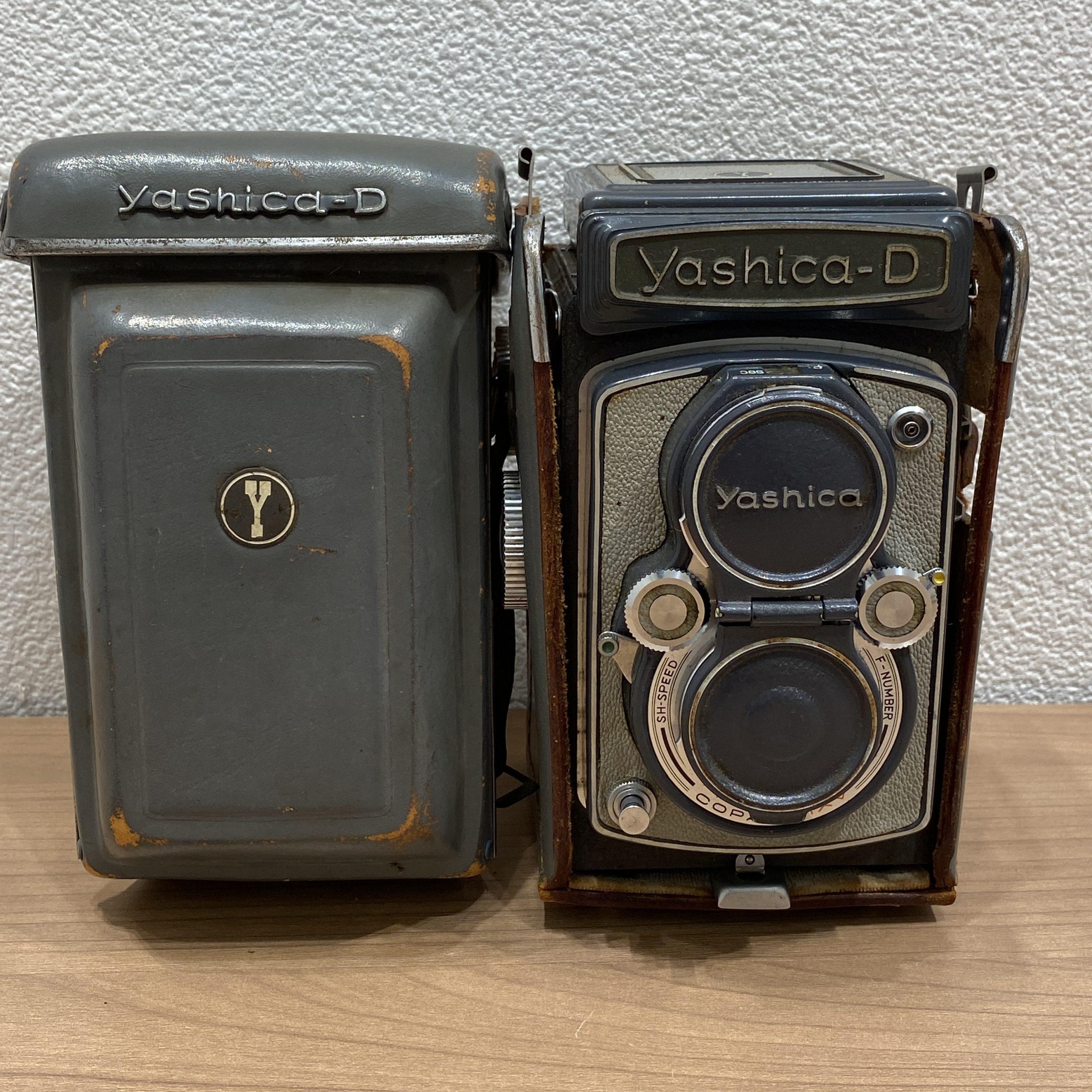 【YASHICA/ヤシカ】yashica-D 2眼レフカメラ 1:3.5 80mm