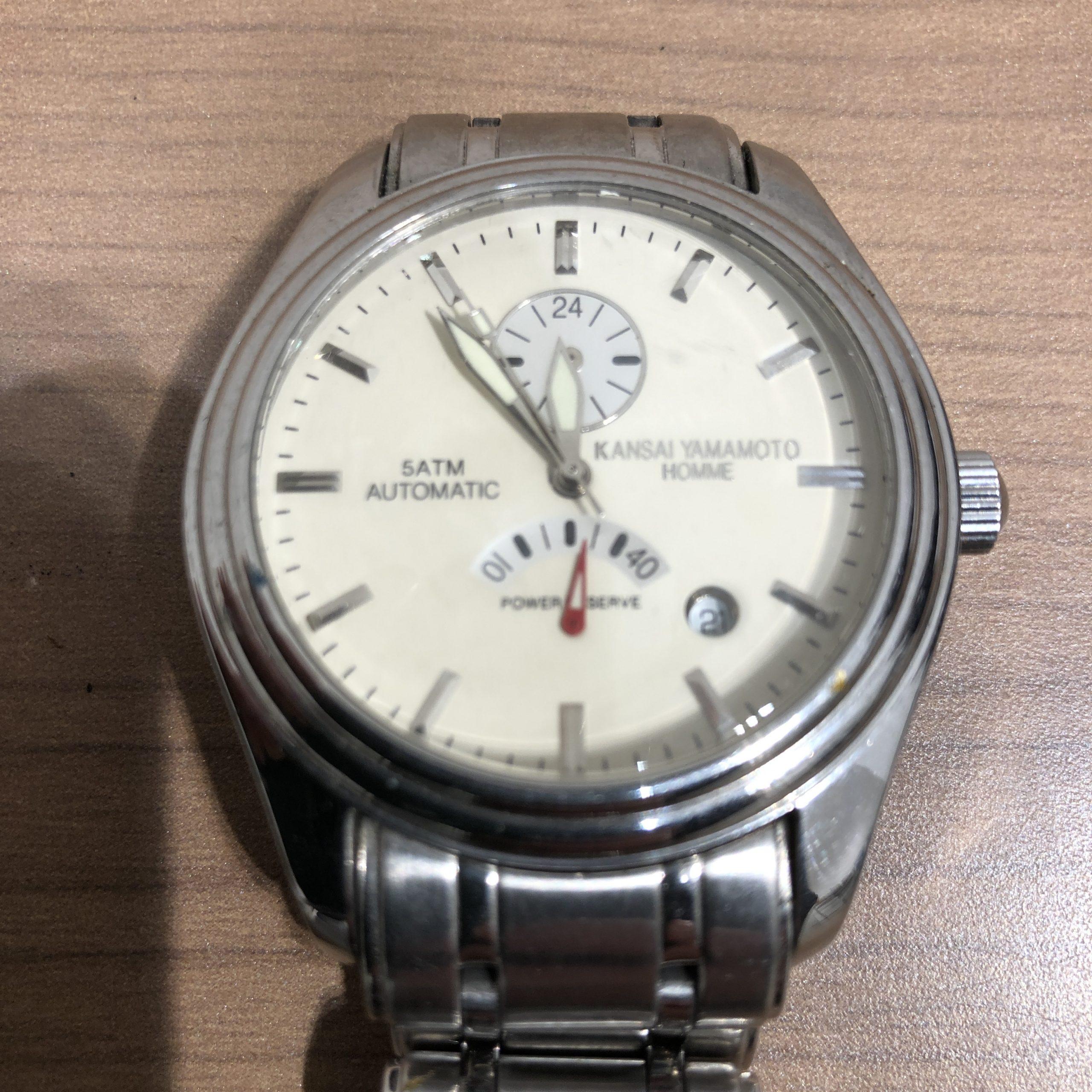 【KANSAI YAMAMOTO/カンサイヤマモト】メンズ 腕時計 自動巻き
