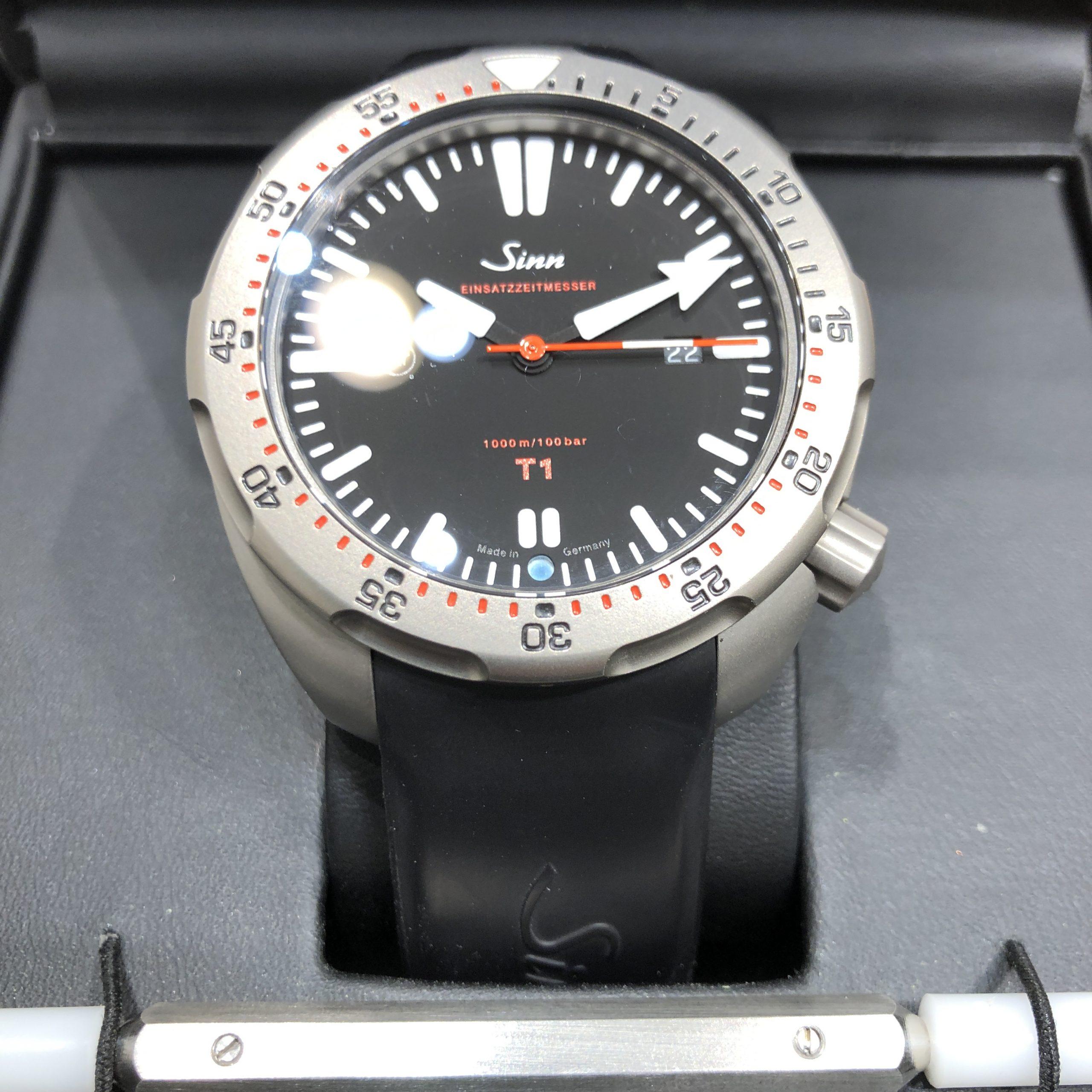 【Sinn/ジン】自動巻き 腕時計
