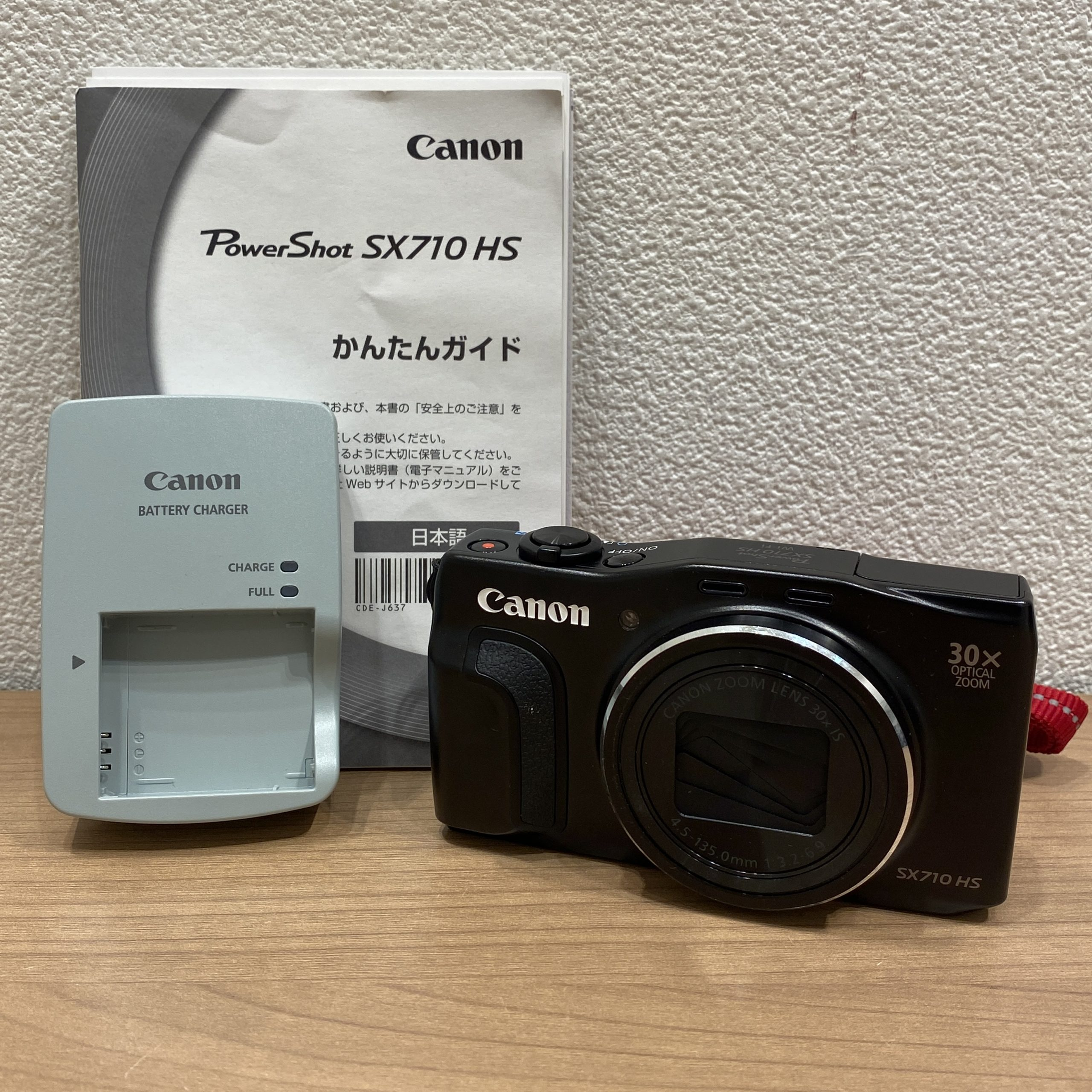 【Canon/キャノン】SX710 HS 20.3MEGA PIXELS コンパクトデジタルカメラ 4.5-135.0mm 1:3.2-6.9