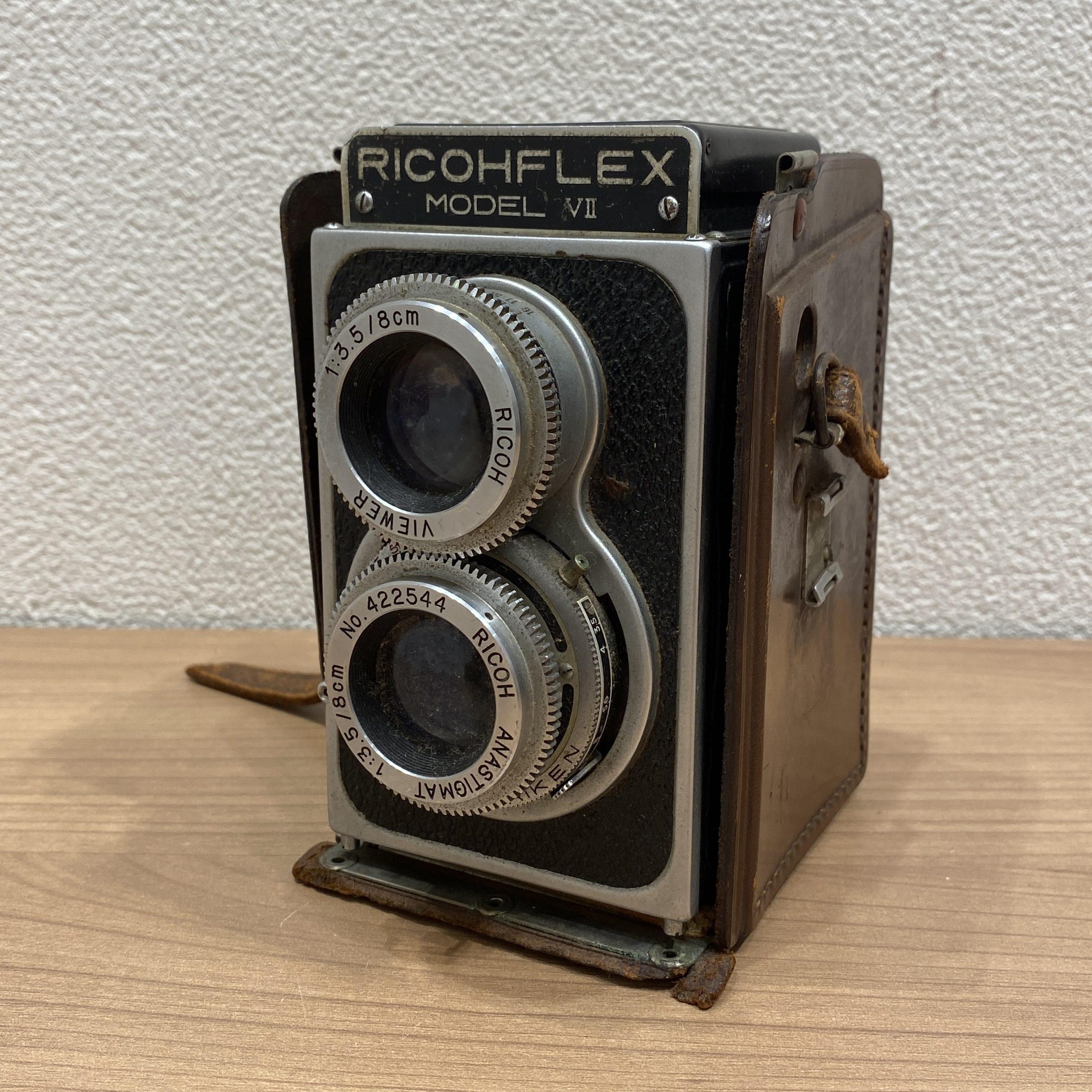 【RICOHFLEX/リコーフレックス】MODEL Ⅶ/モデル7 1:3.5 8cm 2眼レフカメラ