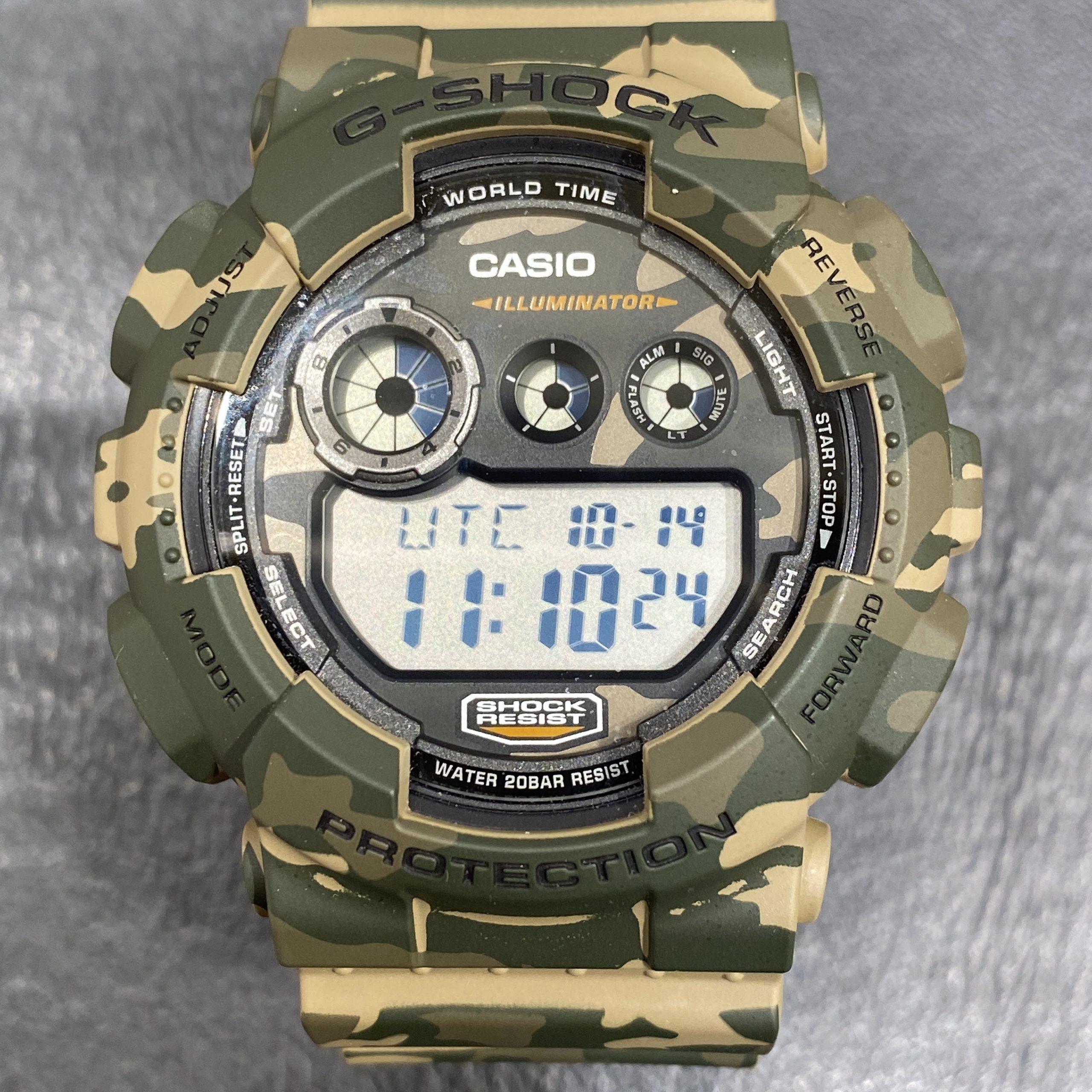 【CASIO/カシオ】G-SHOCK/ジーショック RESIST アナデジ腕時計 GD-120CM