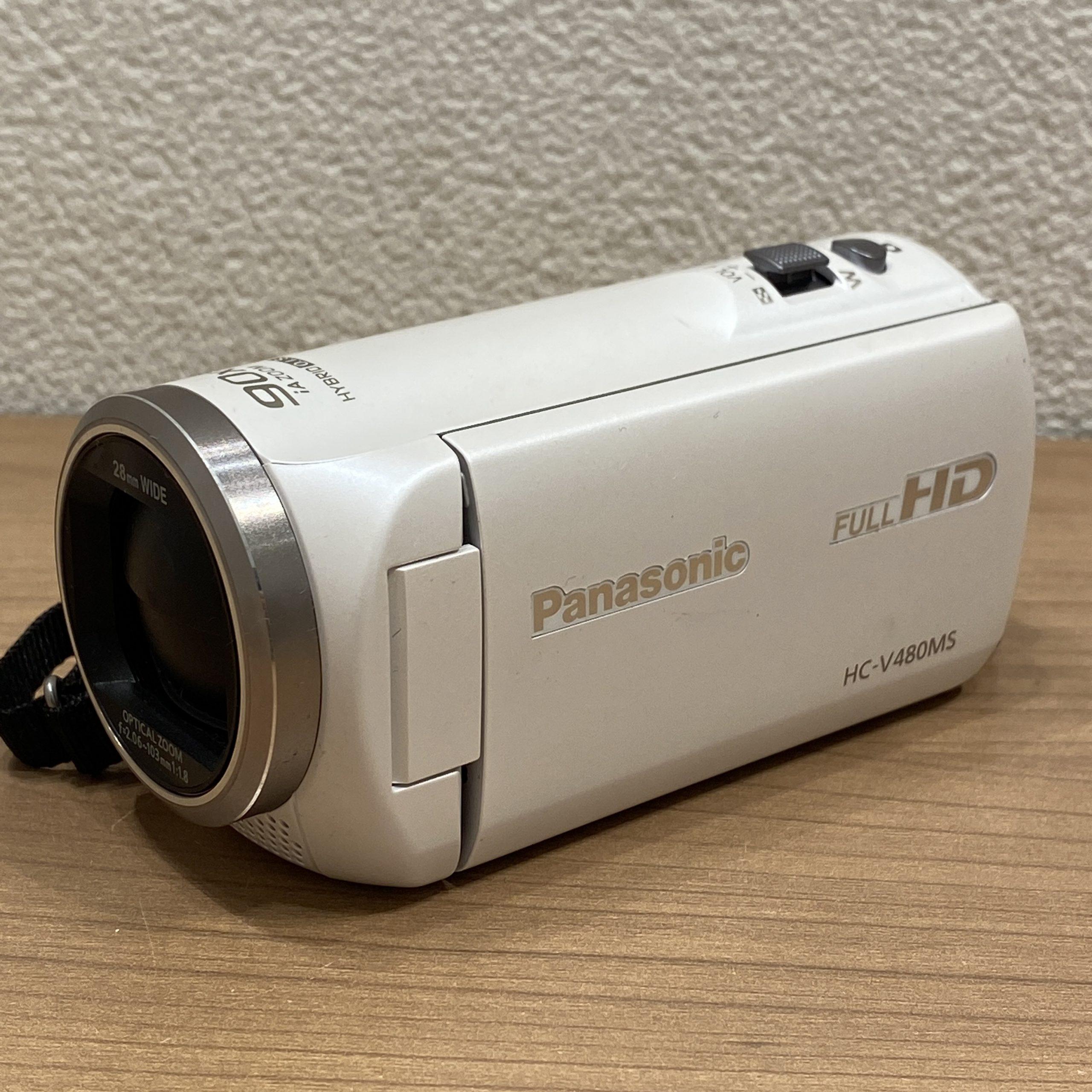 【Panasonic/パナソニック】FULL HD/ハンディカム HC-V480MS ビデオカメラ 28mm
