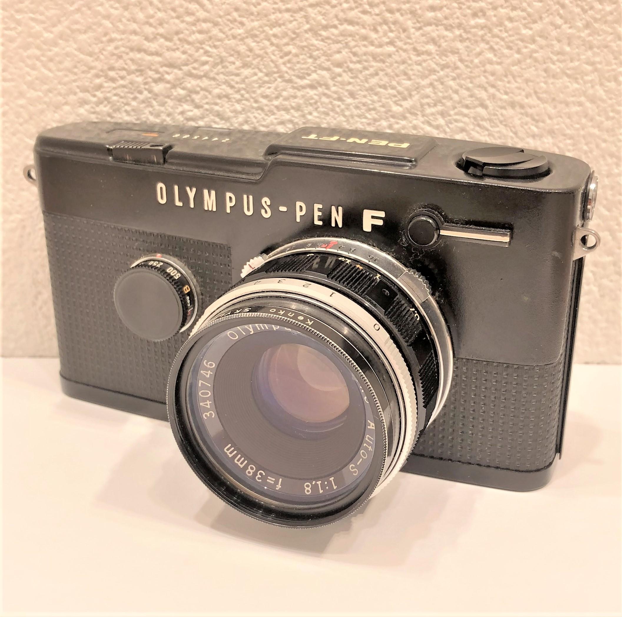 【PLYMPUS/オリンパス】PEN-FT F.Zuiko Auto-S 1.8 38mm フィルムカメラ