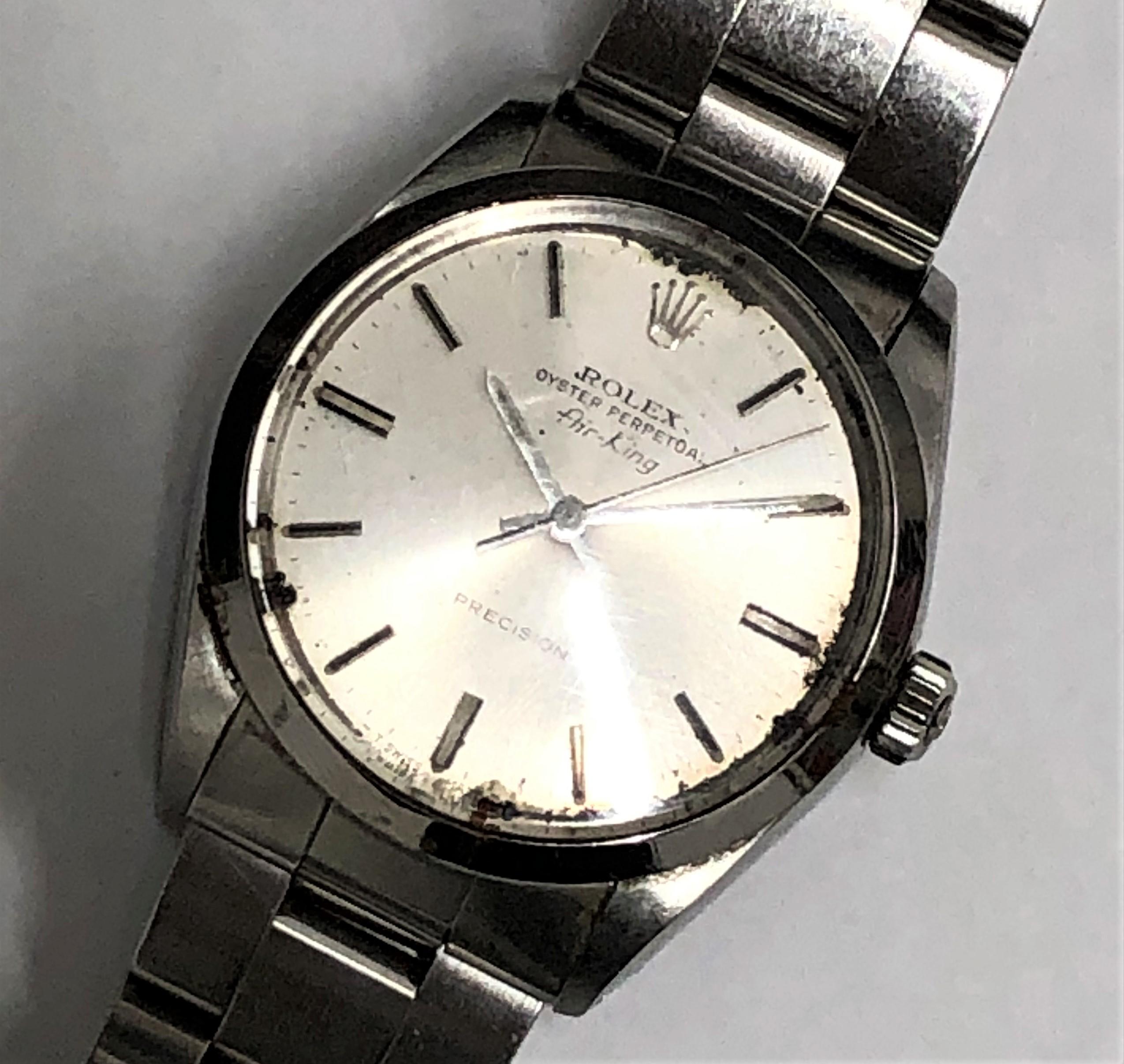 【ROLEX/ロレックス】エアキング 5500 R番 AT 腕時計