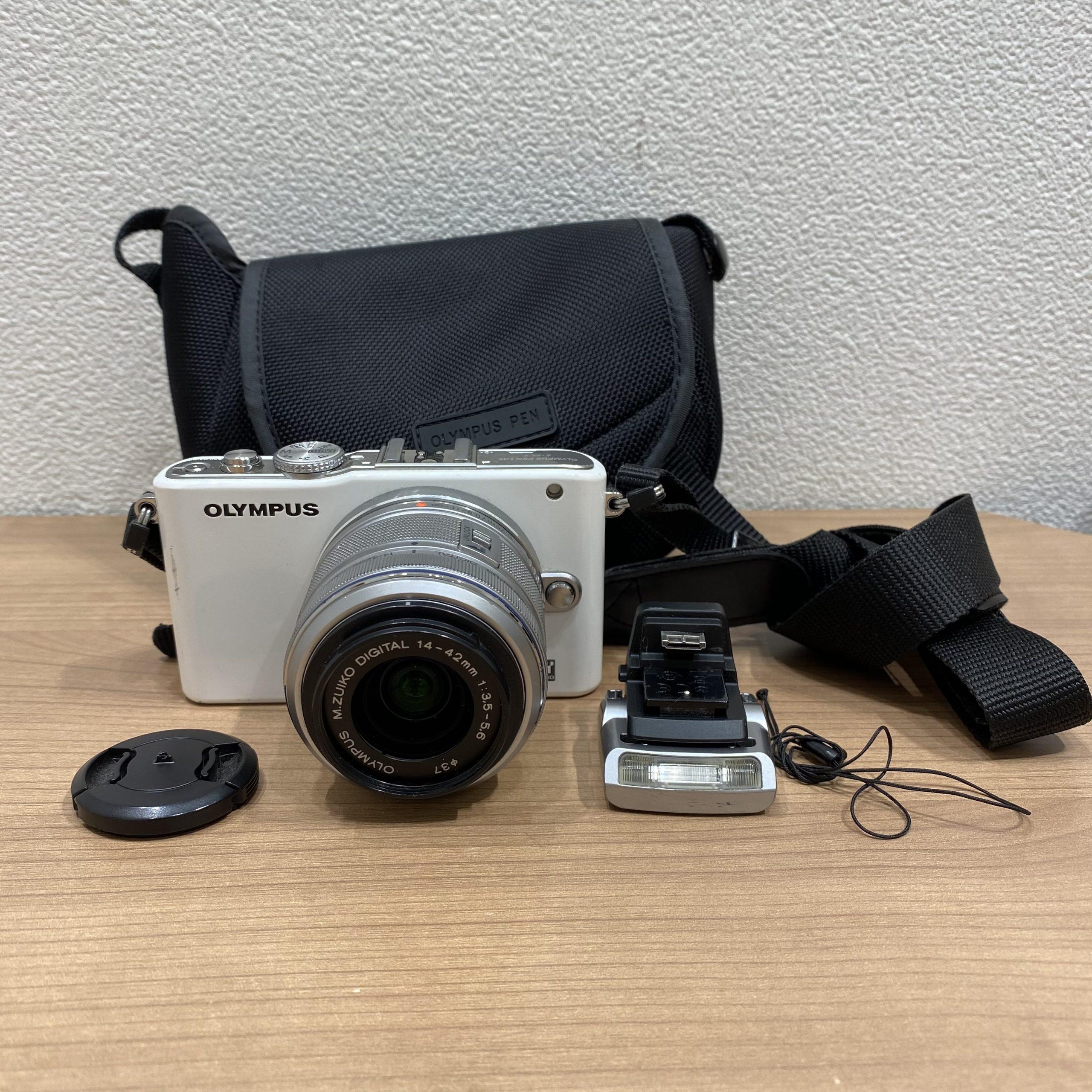 【OLYMPUS/オリンパス】デジタルカメラ(デジカメ) ホワイト
