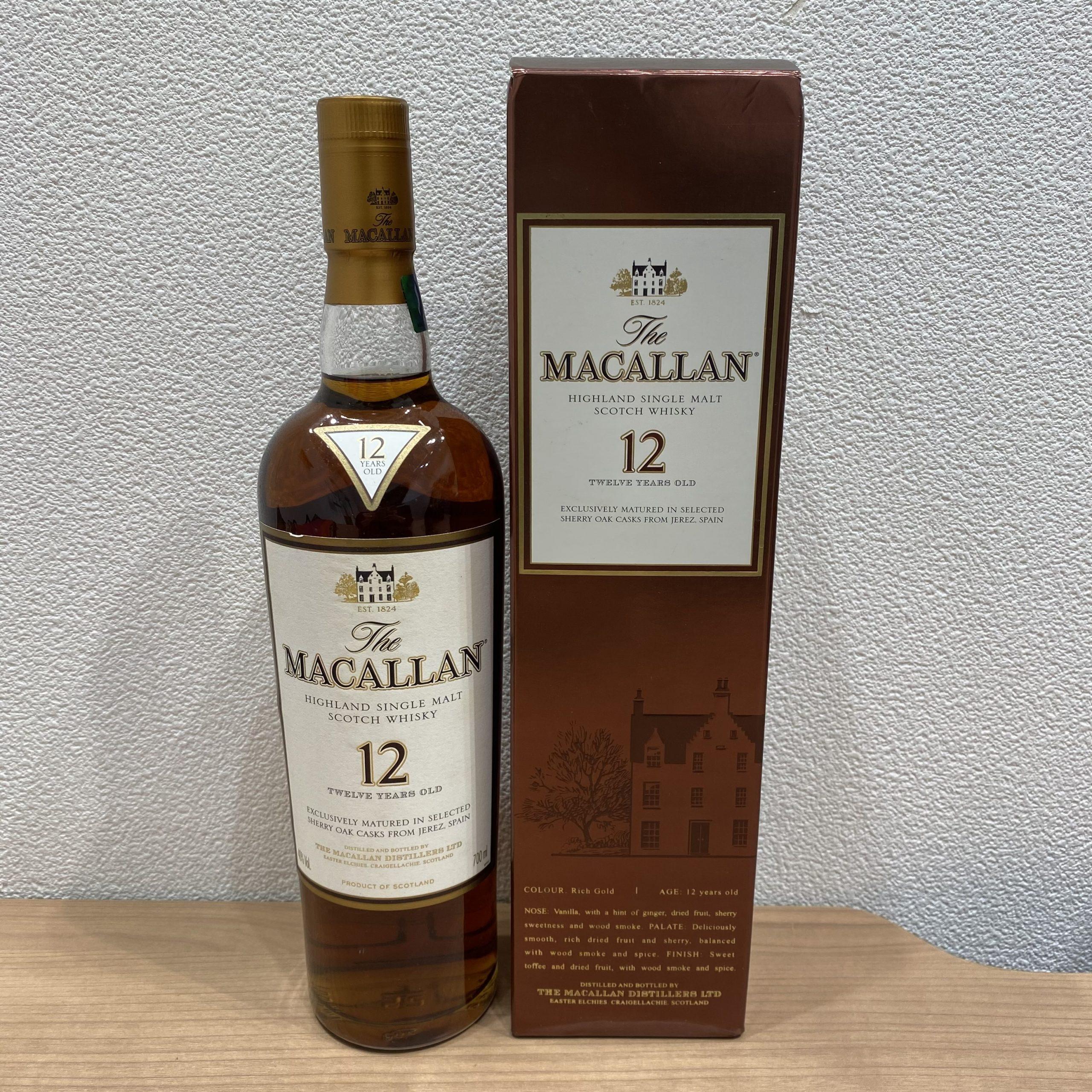 【MACALLAN/マッカラン】12年 ウイスキー 750ml