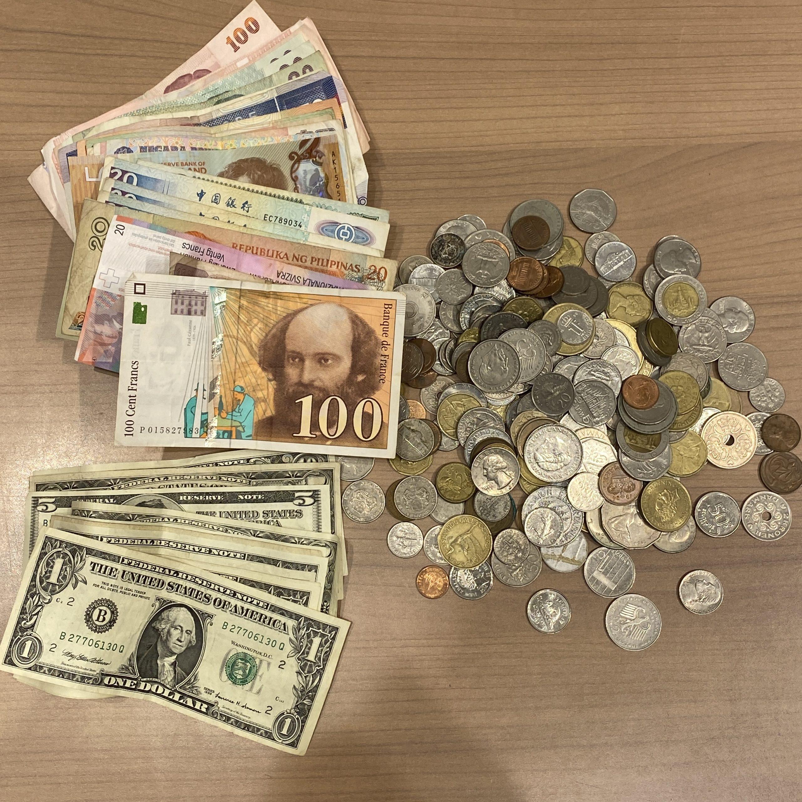 外国紙幣/外国銭