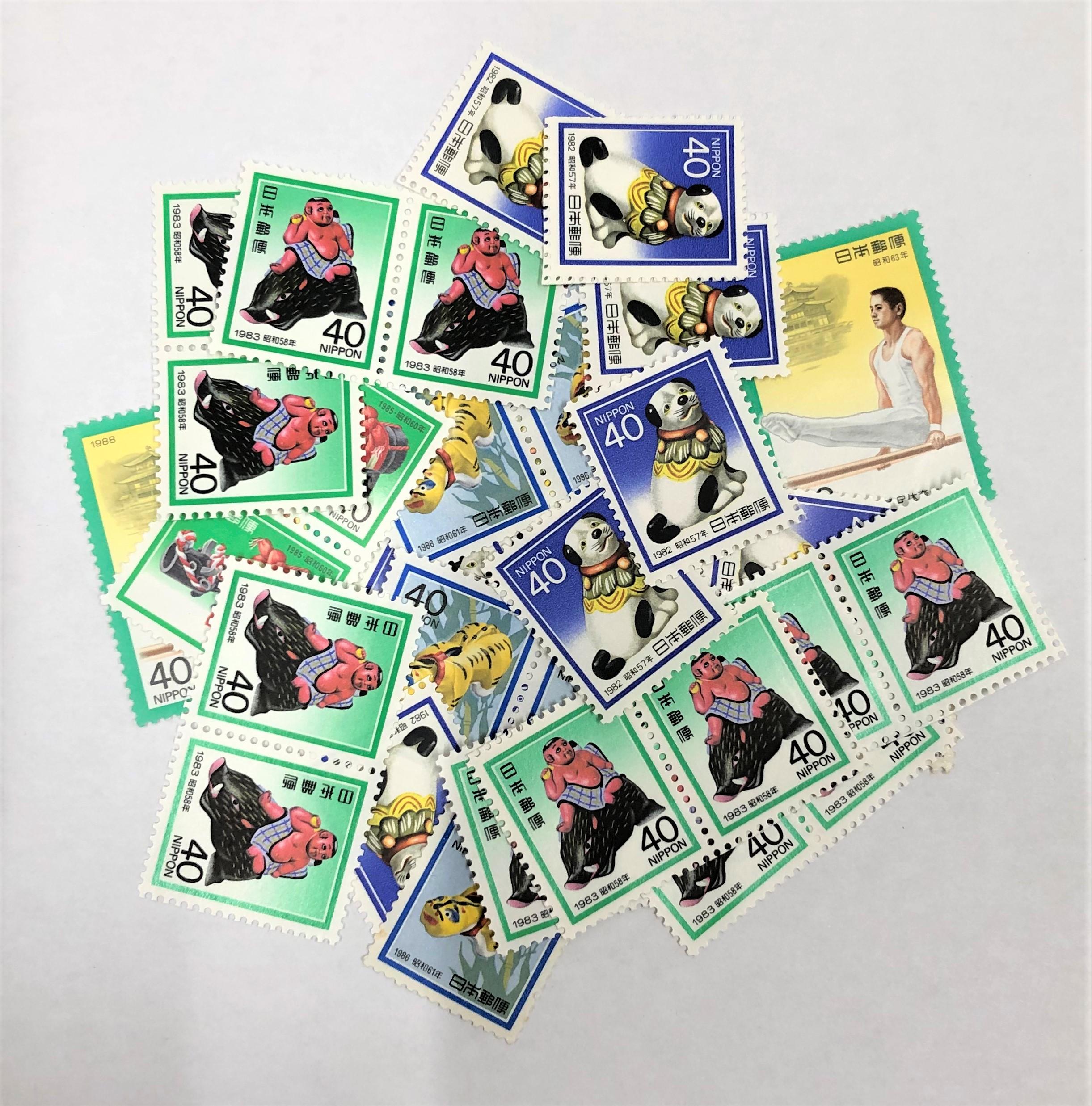 バラ切手 40円