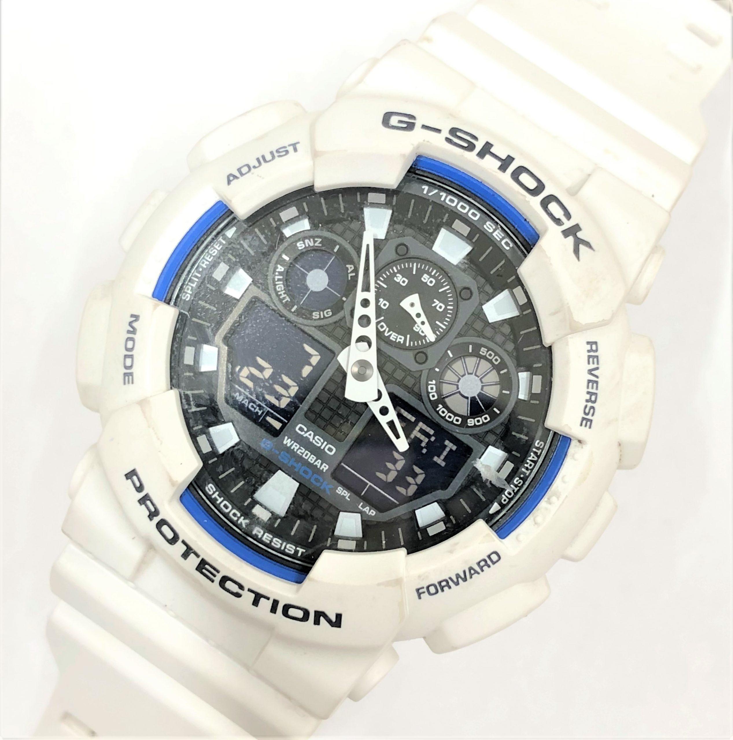 【CASIO G-SHOCK/カシオ Gショック】GA-100B デジタル腕時計