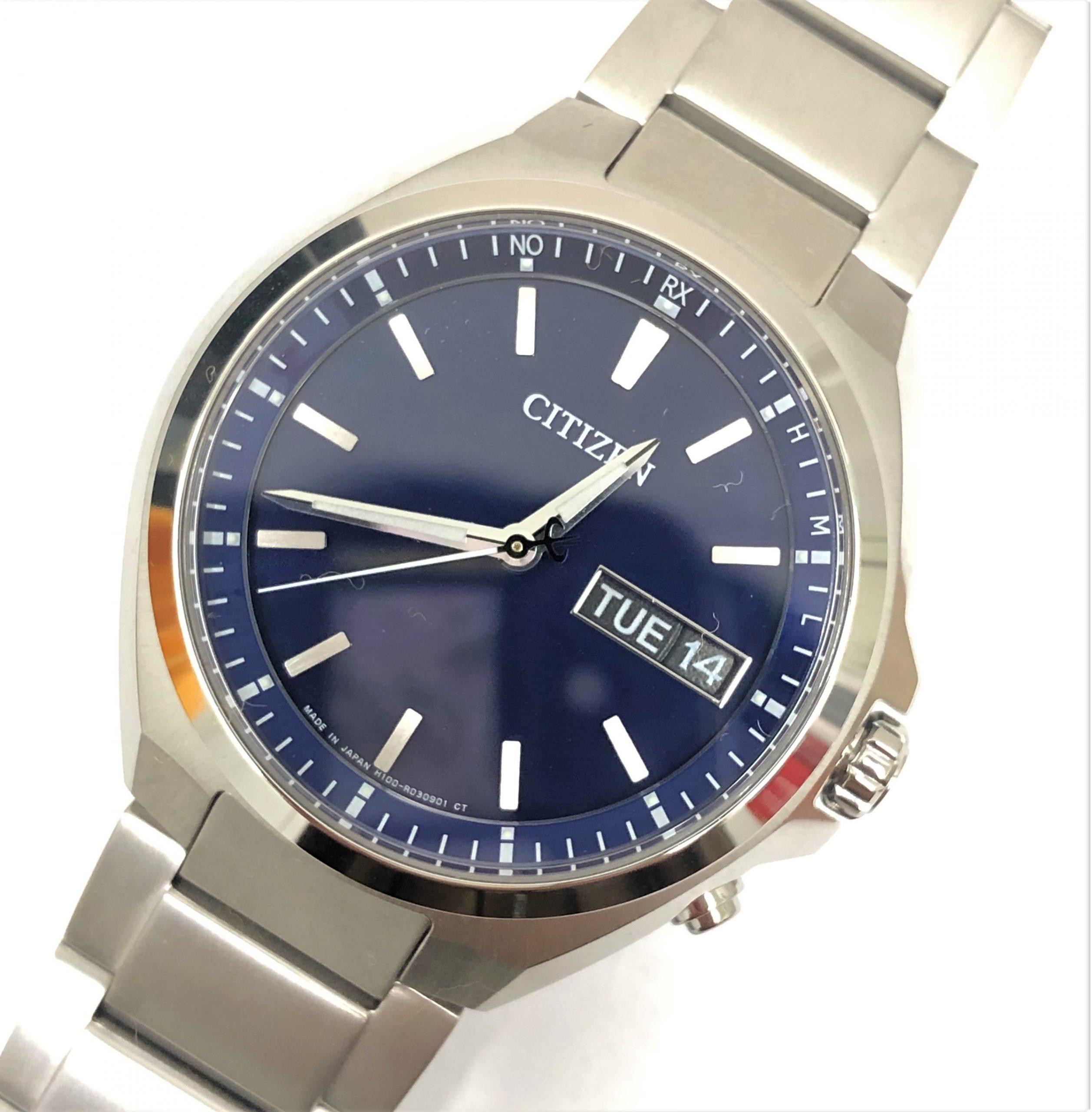 【CITIZEN/シチズン】アテッサ エコドライブ  AT6070-57LH100-R014234 電波 腕時計