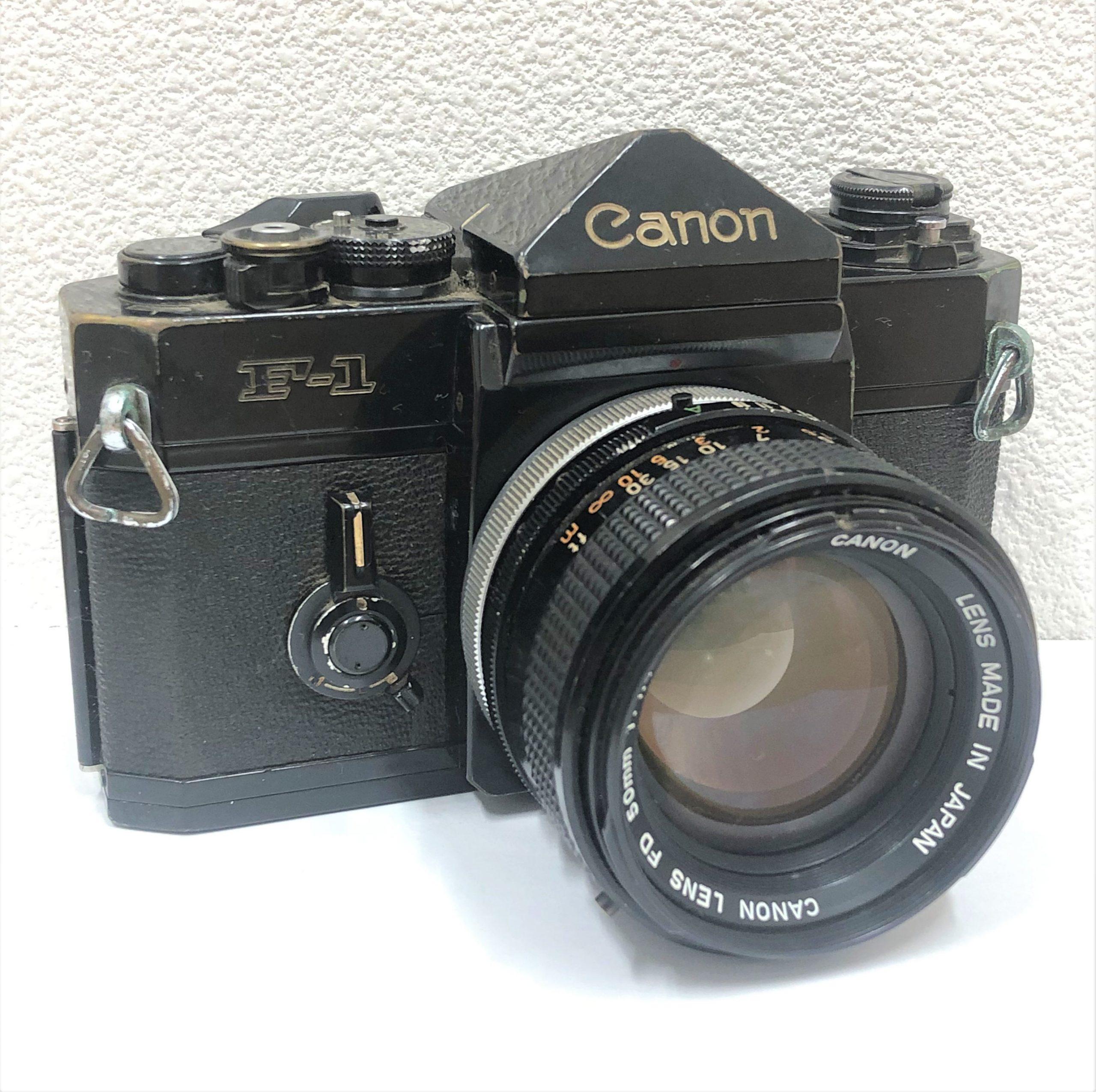 【Canon/キャノン】F-1 FD 50mm 1.4 S.S.C.  一眼レフフィルムカメラ