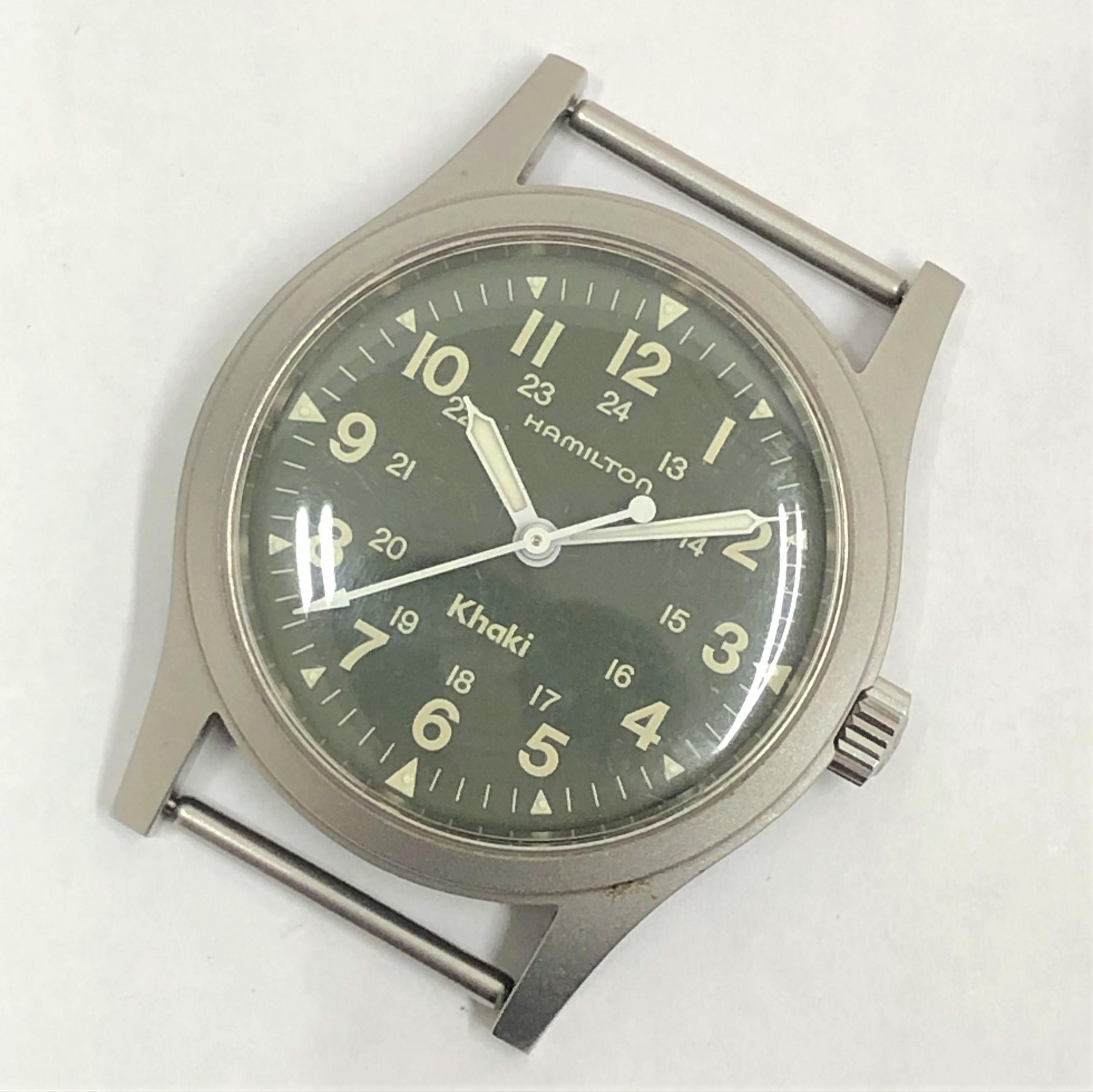 【HAMILTON/ハミルトン】カーキ 9415A 手巻き 腕時計  フェイスのみ