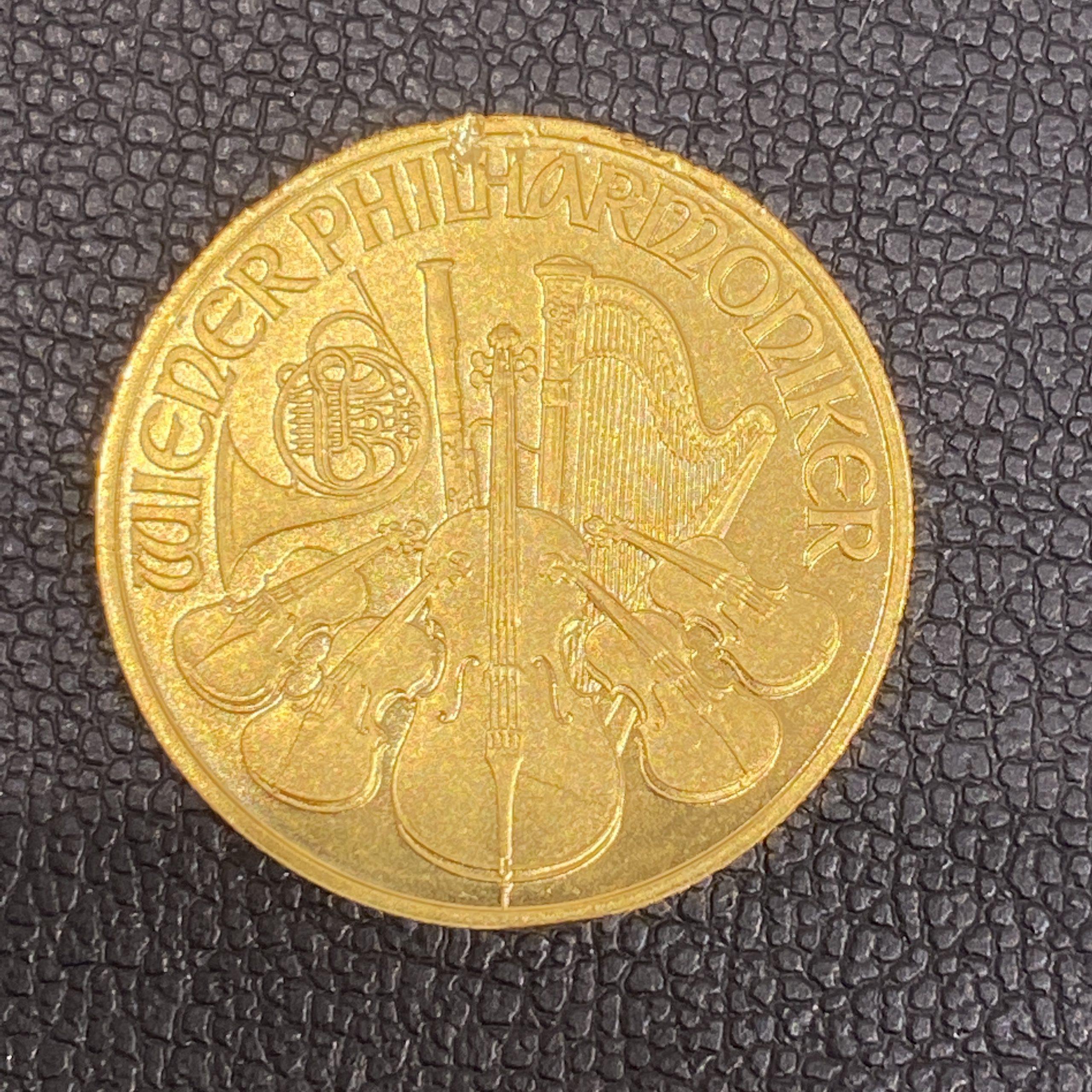 K24 ウィーン金貨 1/4OZ