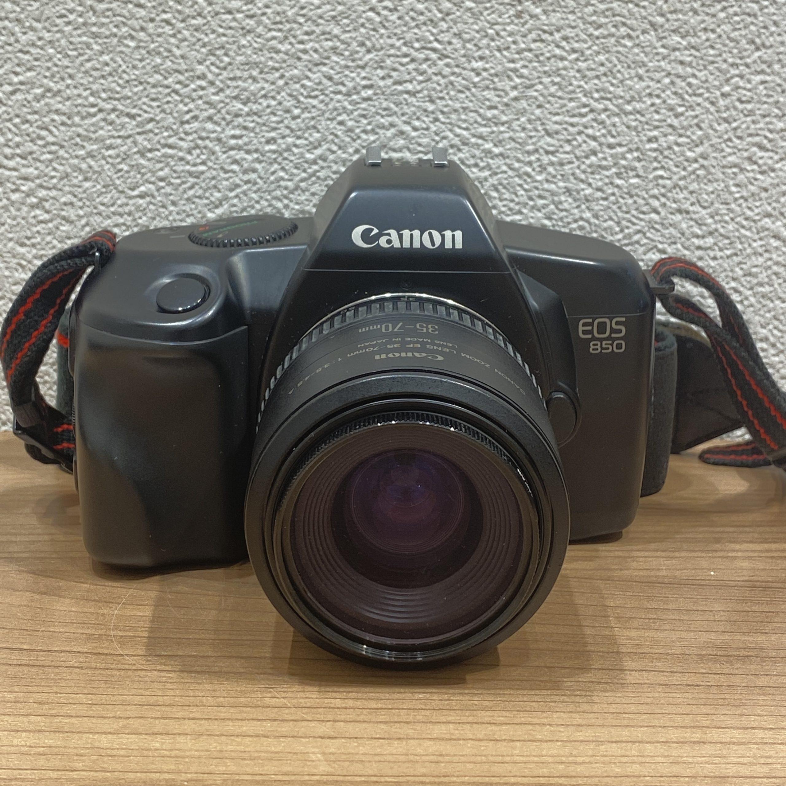 【Canon/キャノン】EOS 850 フィルムカメラ 35-70mm 1:3.5-4.5A
