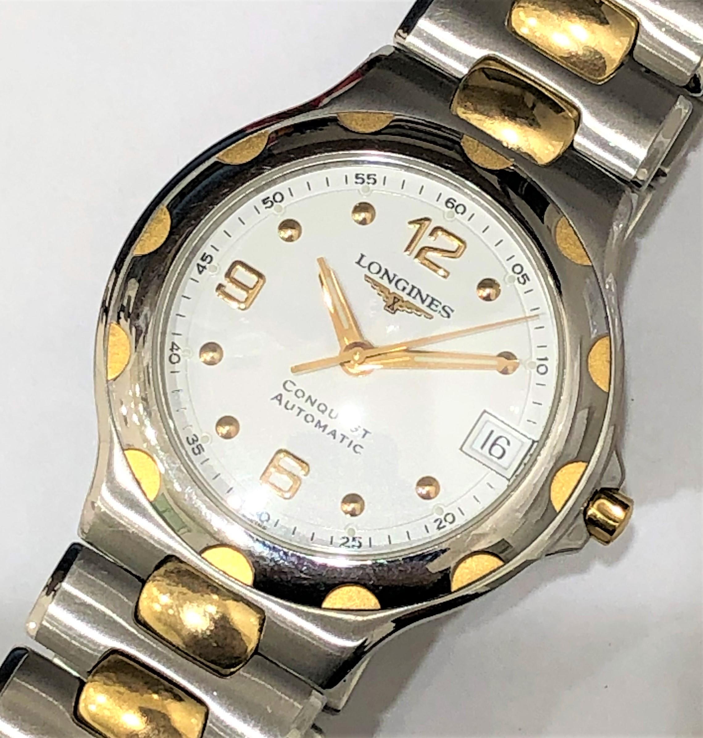 【LONGINES/ロンジン】コンクエスト L1.635.3 AT 腕時計