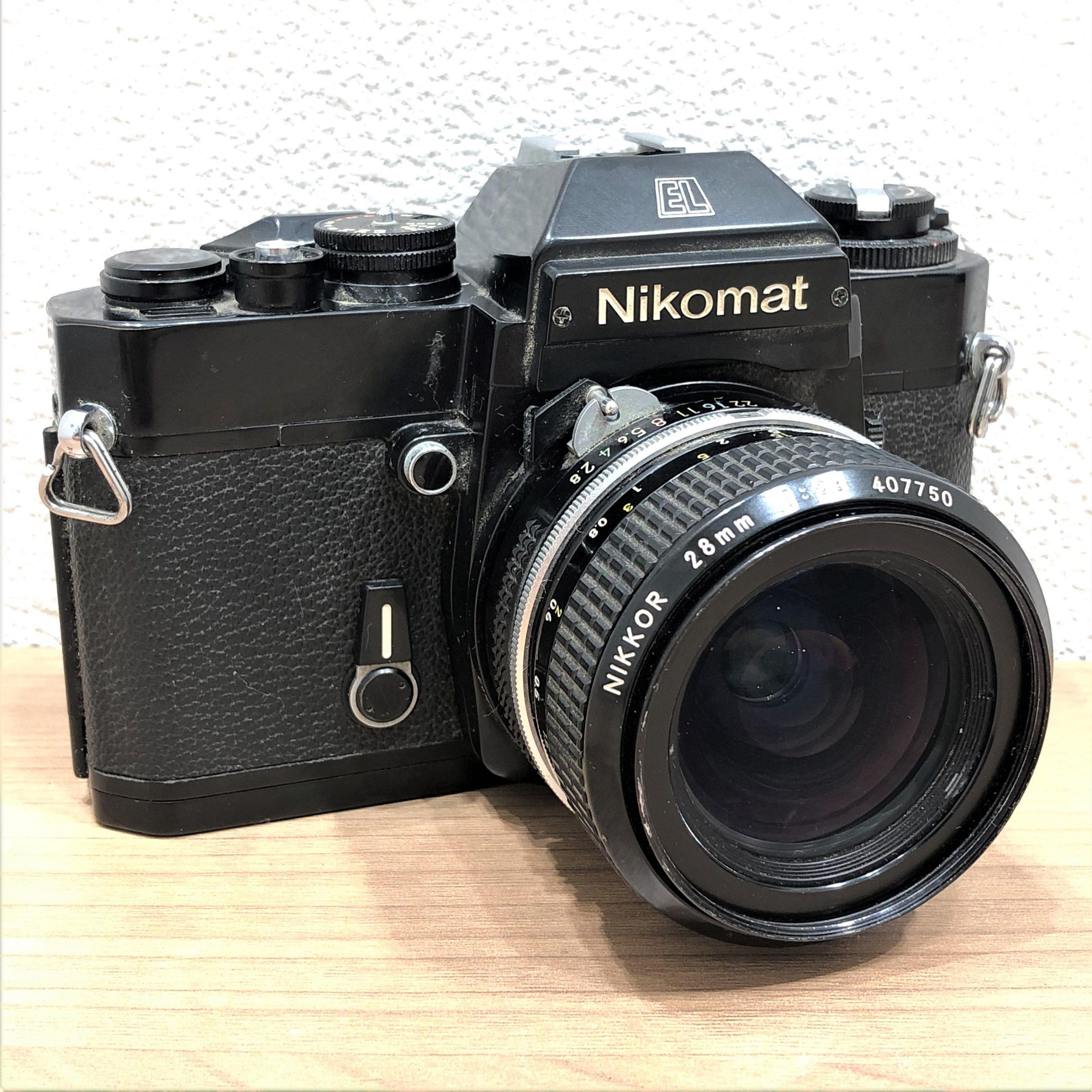 【Nikomat/ニコマート】EL 28mm 2.8 一眼レフフィルムカメラ