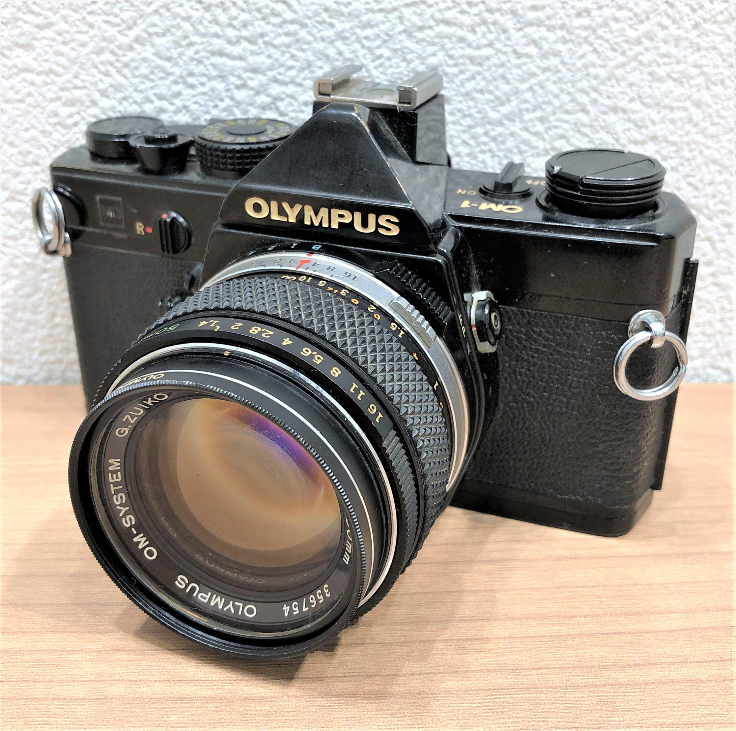 【OLYMPUS/オリンパス】OM-1 ブラックボディ 1.4 50mm 一眼レフフィルムカメラ