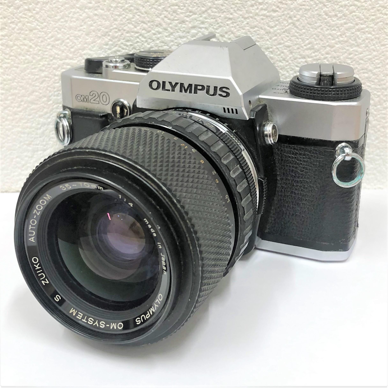 【OLYMPUS/オリンパス】OM20 30-70mm 4一眼レフフィルムカメラ