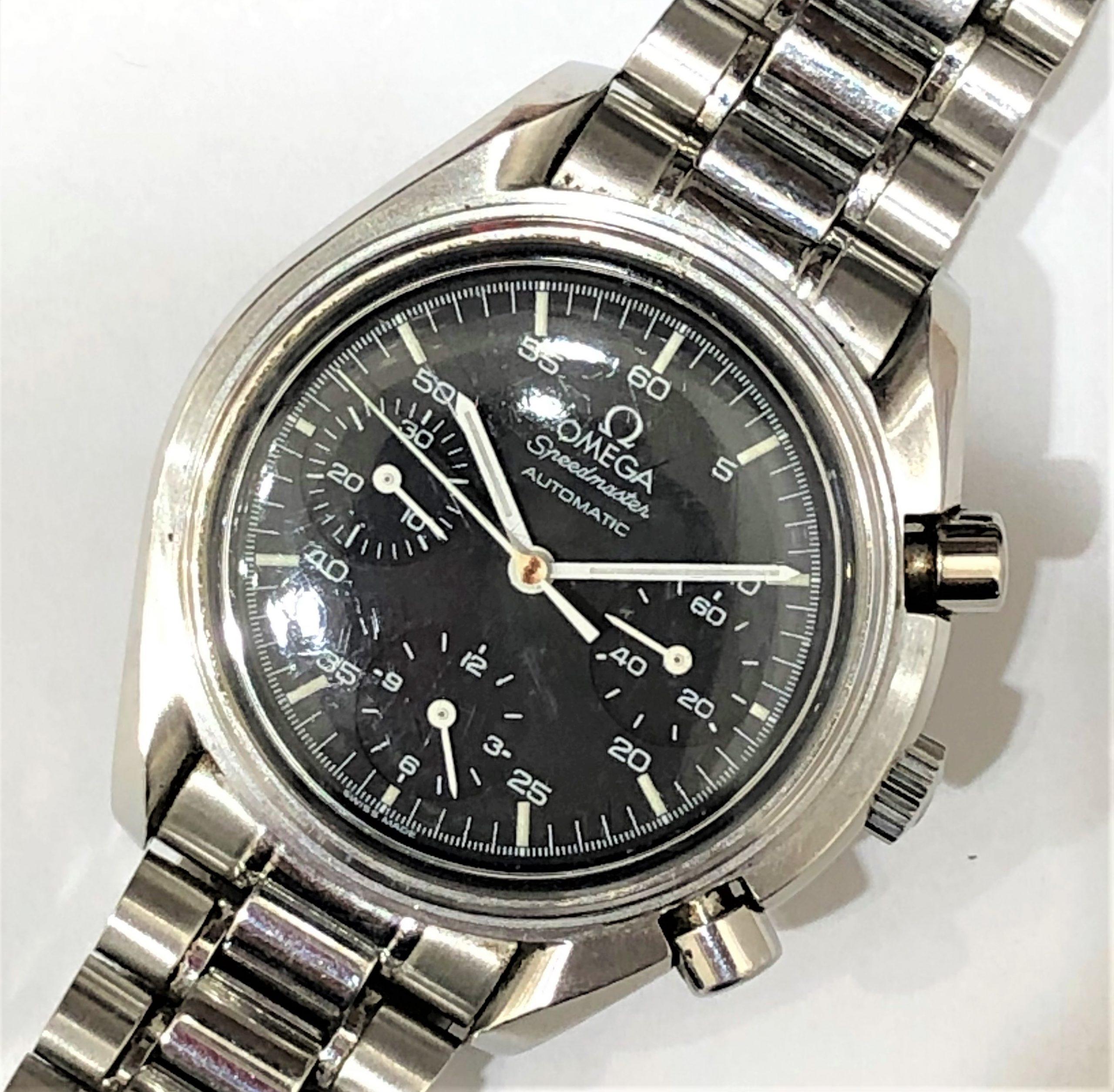 【OMEGA/オメガ】スピードマスター 3510.50 AT 腕時計 ベゼル欠損