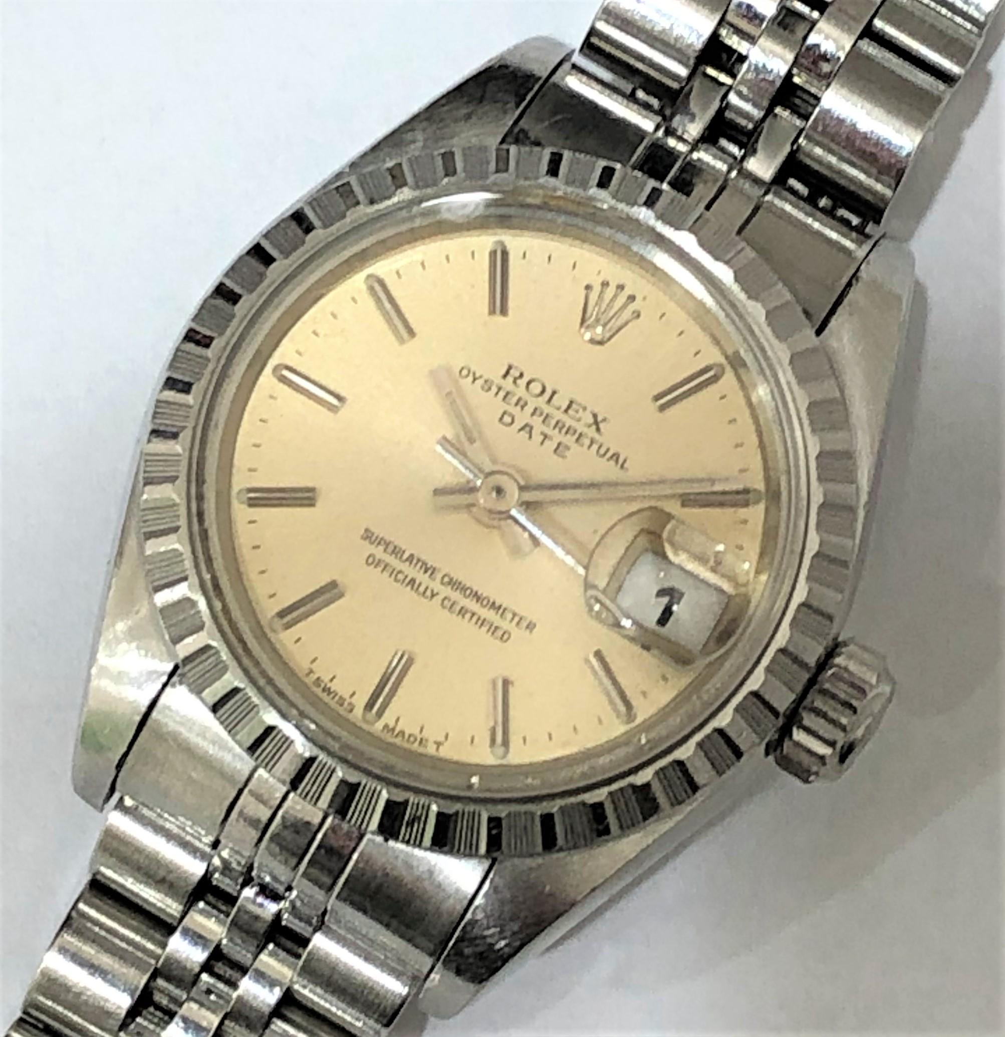 【ROLEX/ロレックス】オイスターパーペチュアルデイト 69240 S番 AT 腕時計