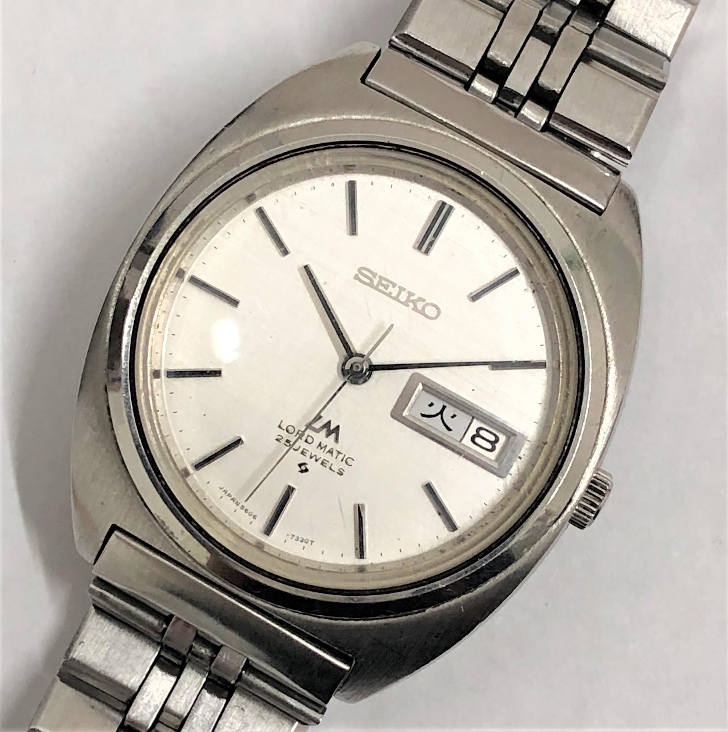 【SEIKO/セイコー】ロードマチック AT 腕時計