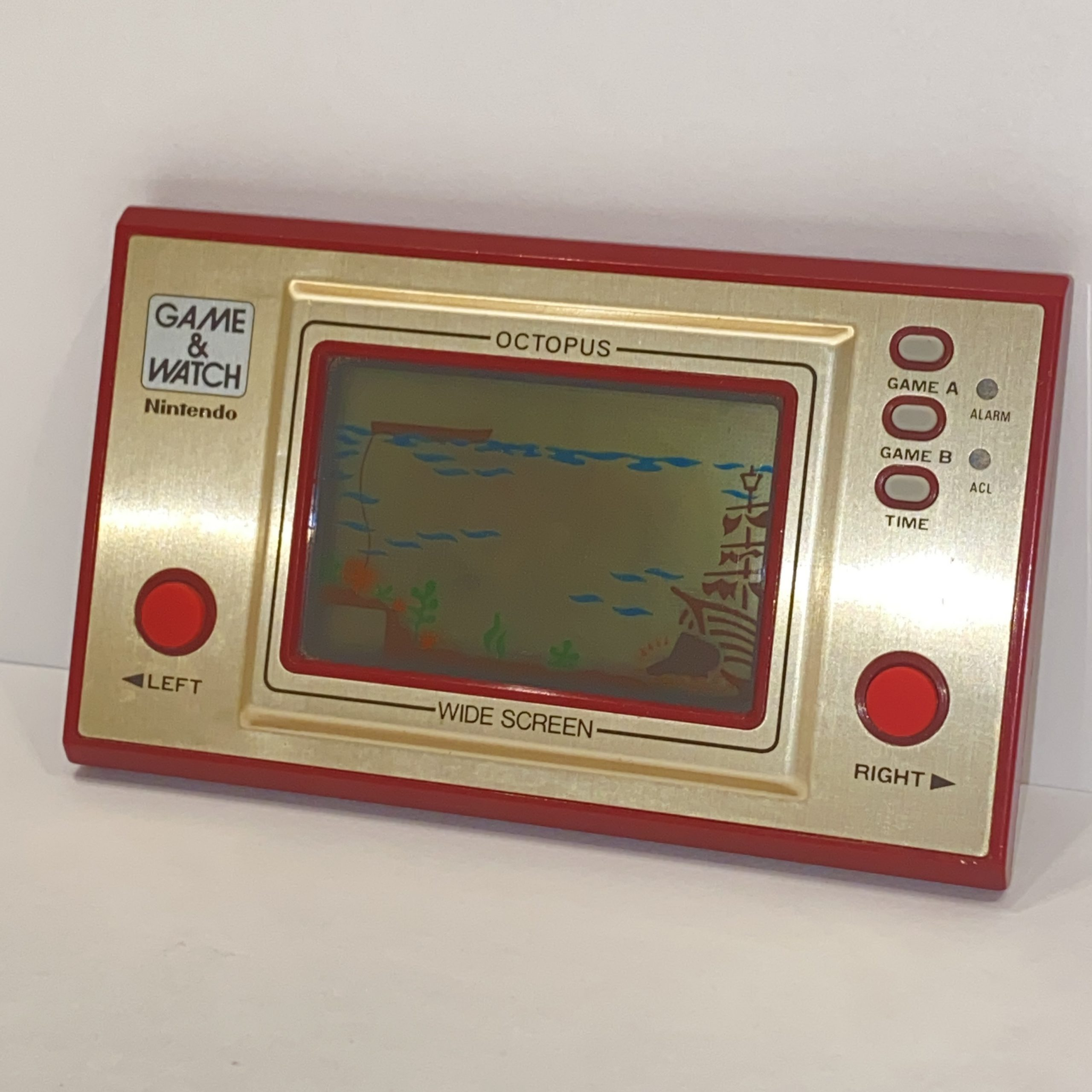 【Nintendo/ニンテンドー/任天堂】GAME&WATCH/ゲーム&ウォッチ OC-22 オクトパス
