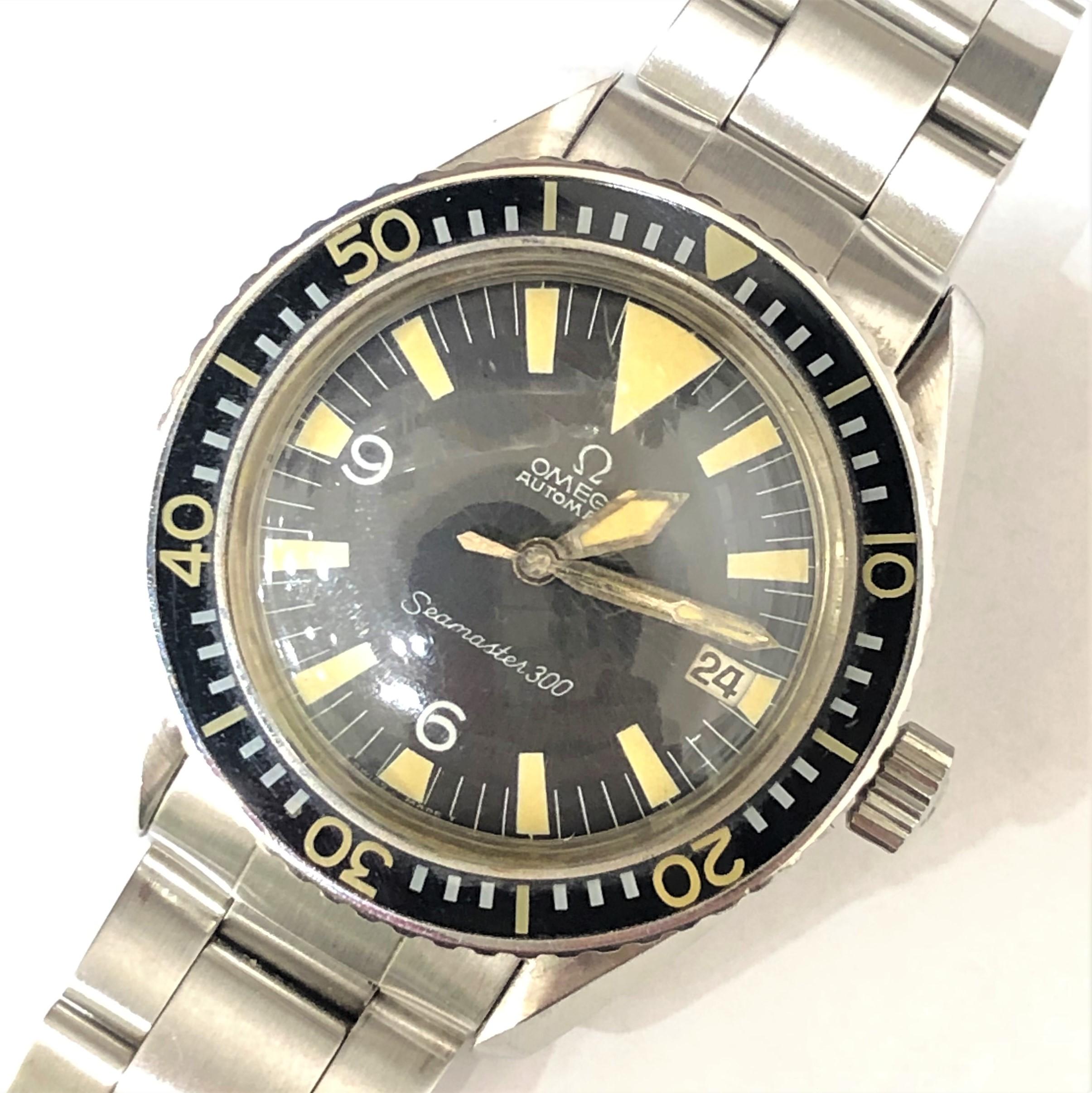 【OMEGA/オメガ】シーマスター300 14755-61SC アンティーク AT 腕時計