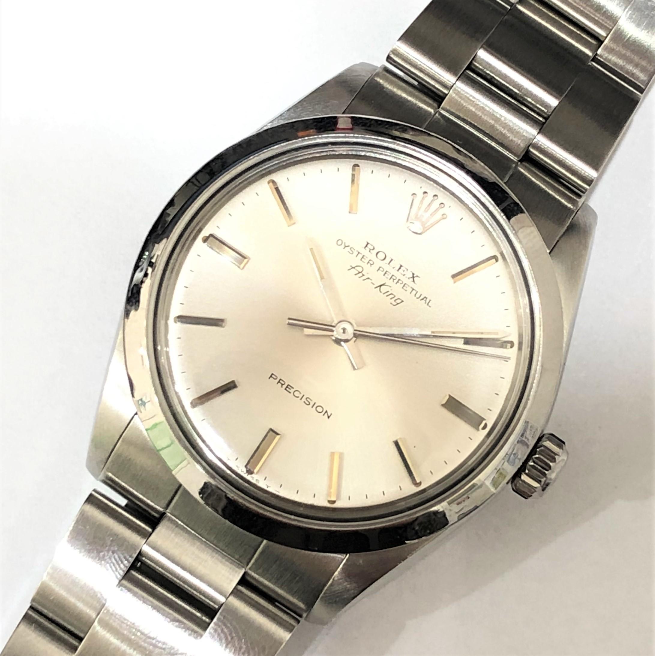 【ROLEX/ロレックス】エアキング 5500 L番 AT 腕時計