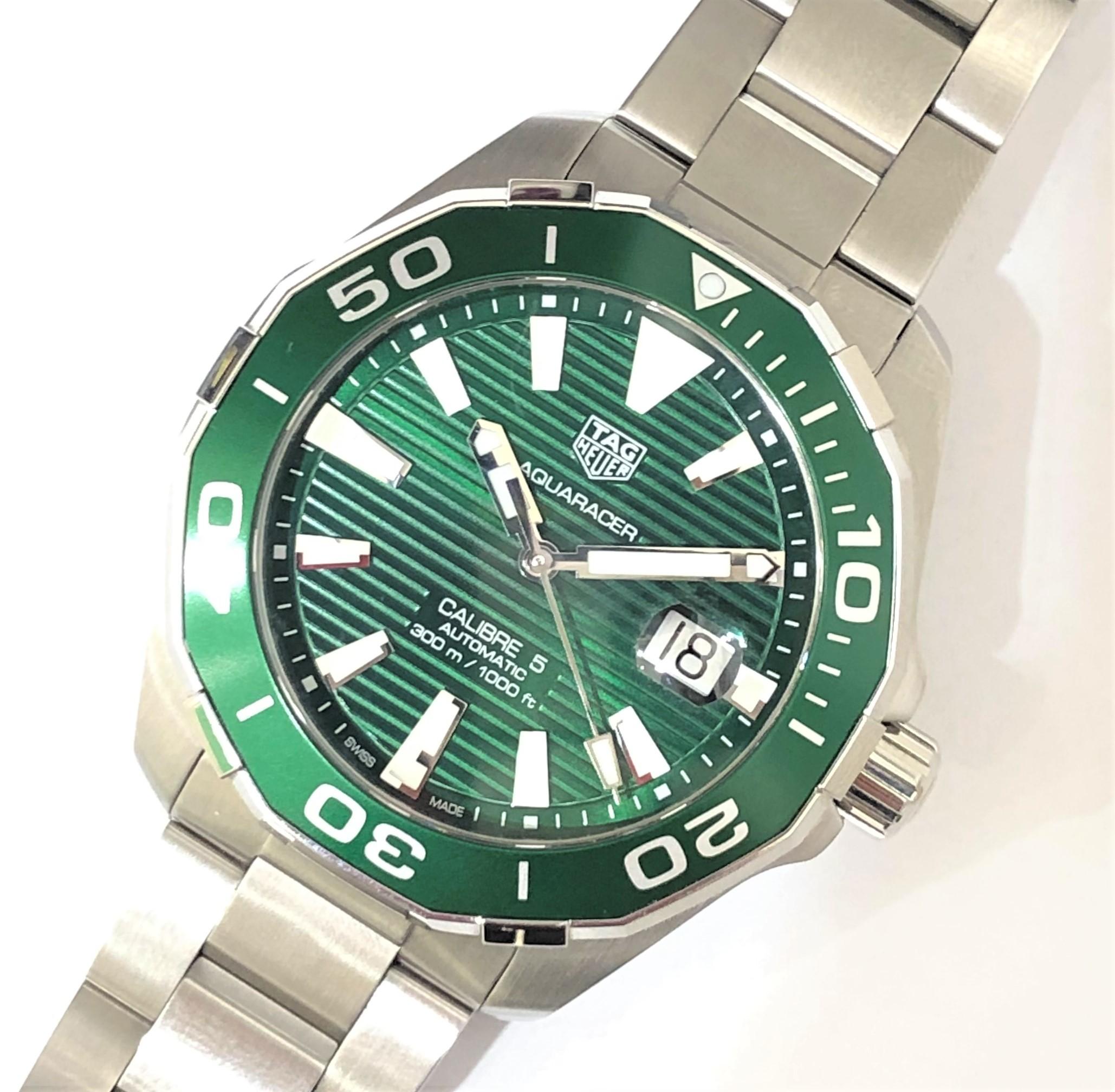 【TAG HEUER/タグホイヤー】アクアレーサー キャリバー5 WAY201S AT 腕時計