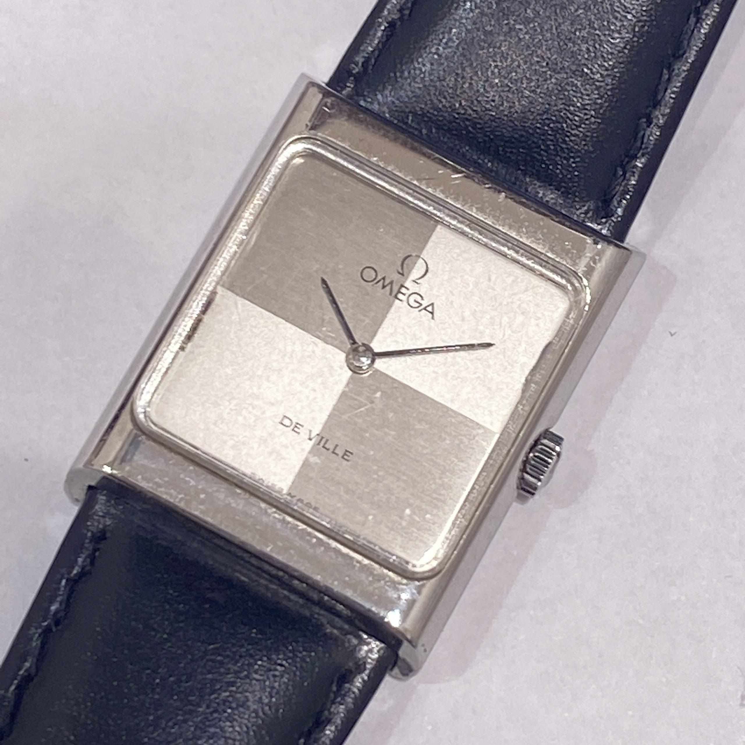 【OMEGA/オメガ】QZ デビル メンズ腕時計