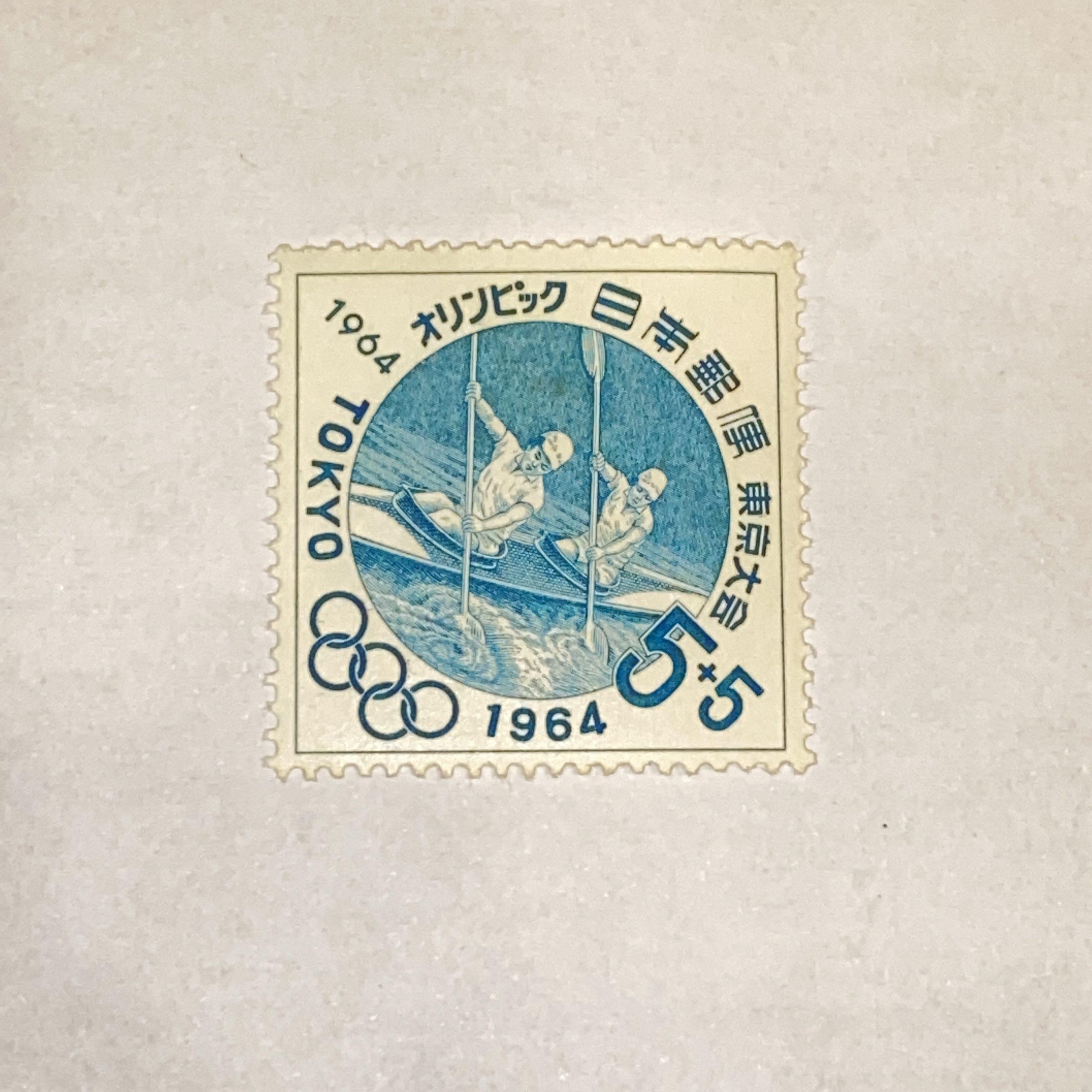 日本バラ切手 5円