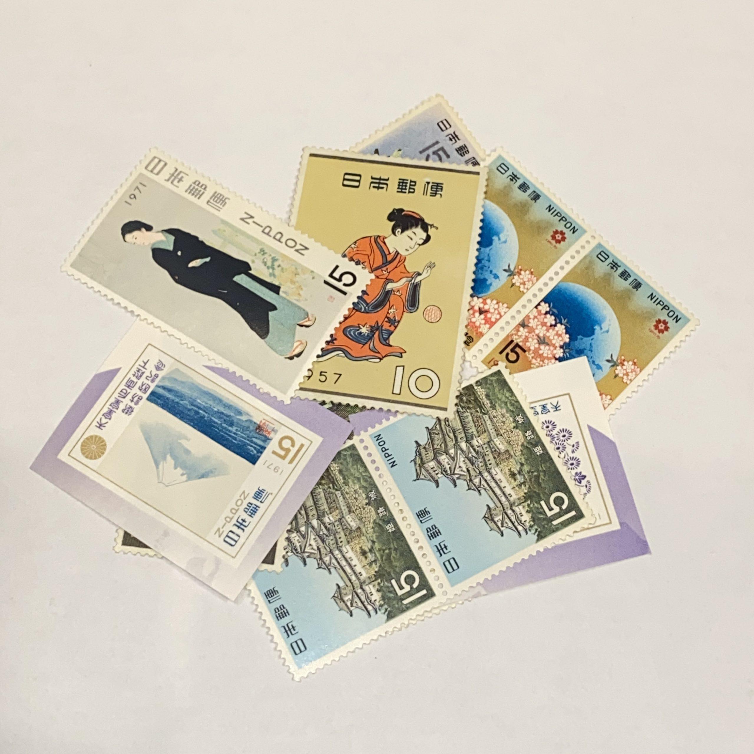 日本バラ切手