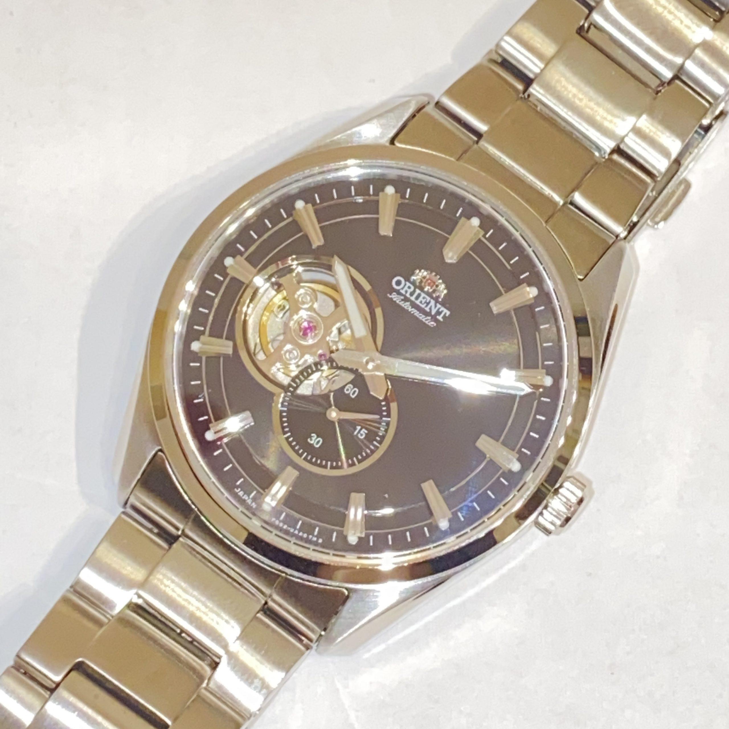【ORIENT/オリエント】オートマ/自動巻き スモールセコンド F6S2-UAA0 メンズ腕時計